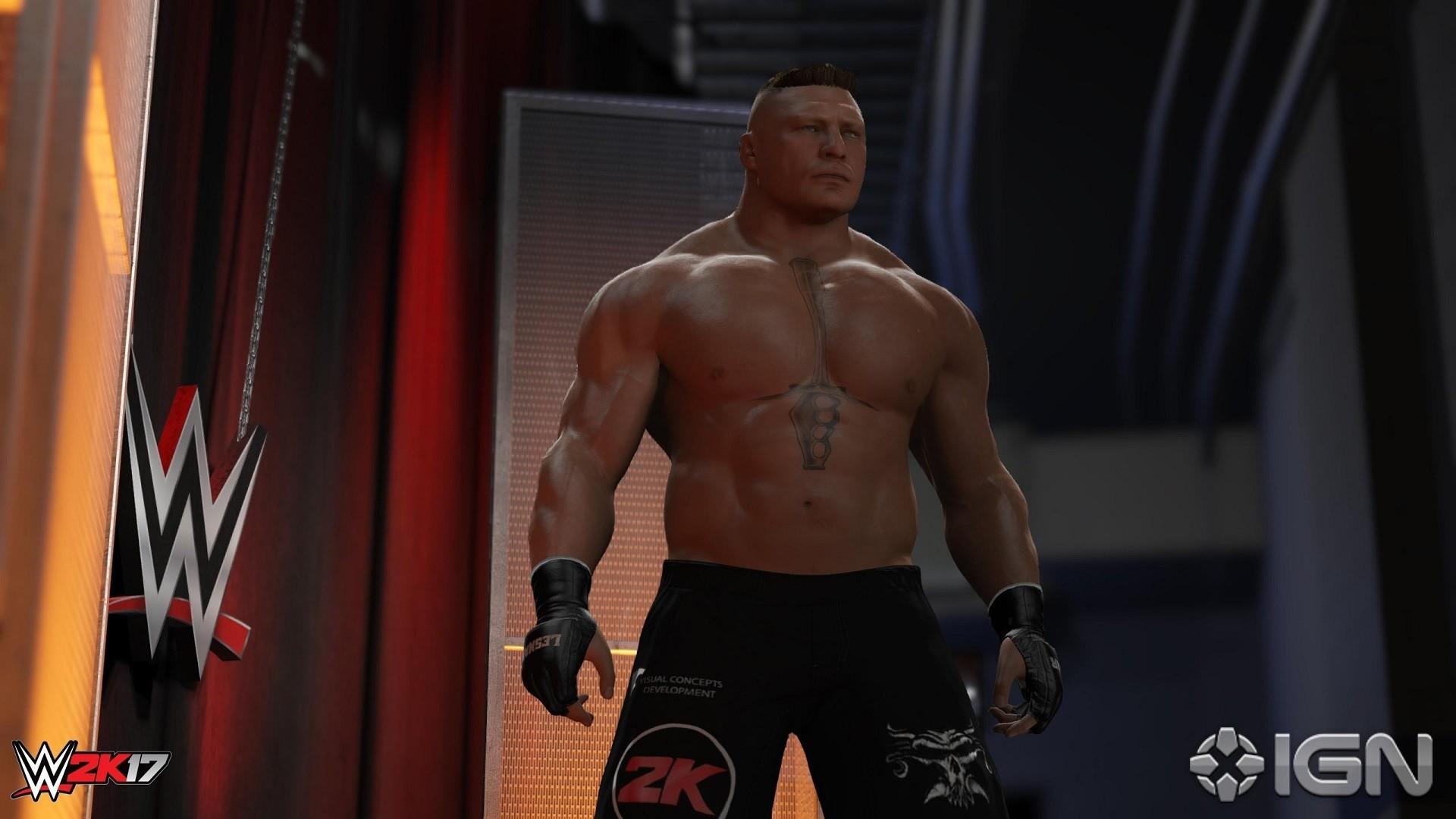 Res: 1920x1080, WWE 2K18 Brock Lesnar Wallpaper ...