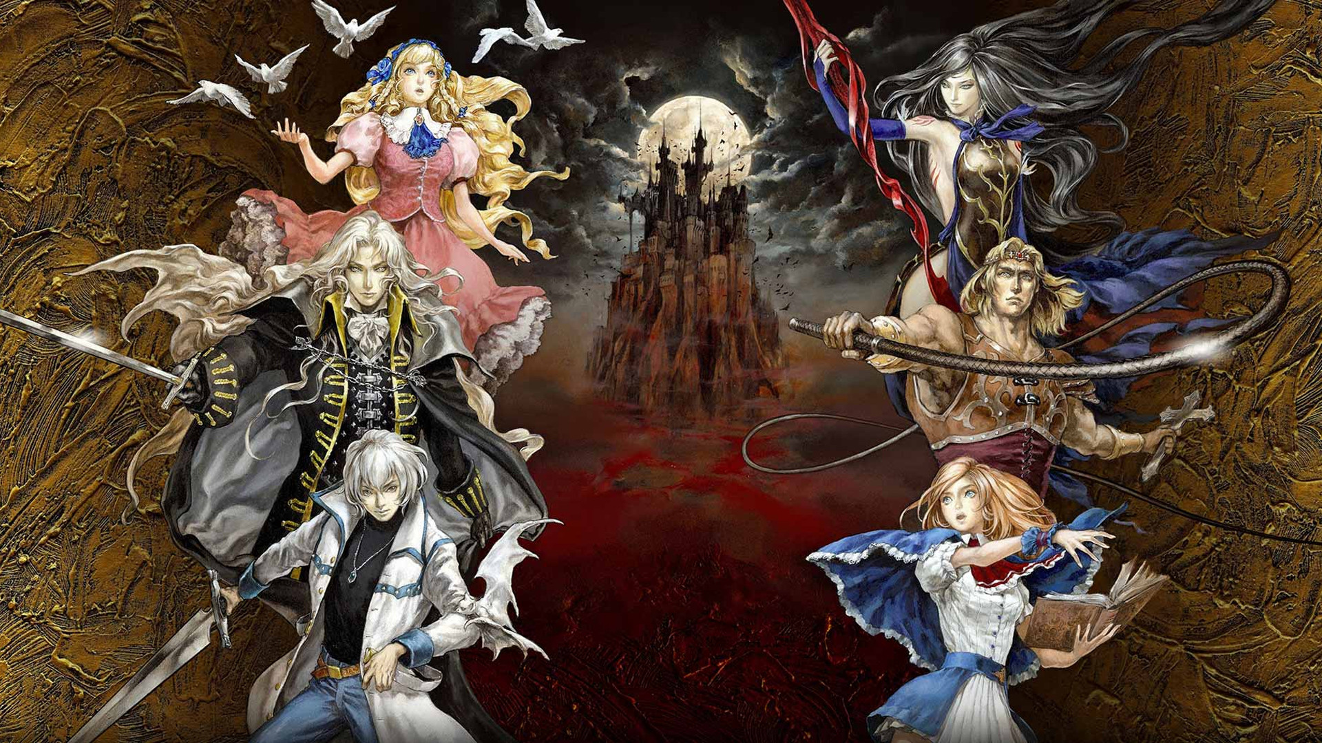 Res: 1920x1080, Wallpaper from Castlevania: Grimoire of Souls