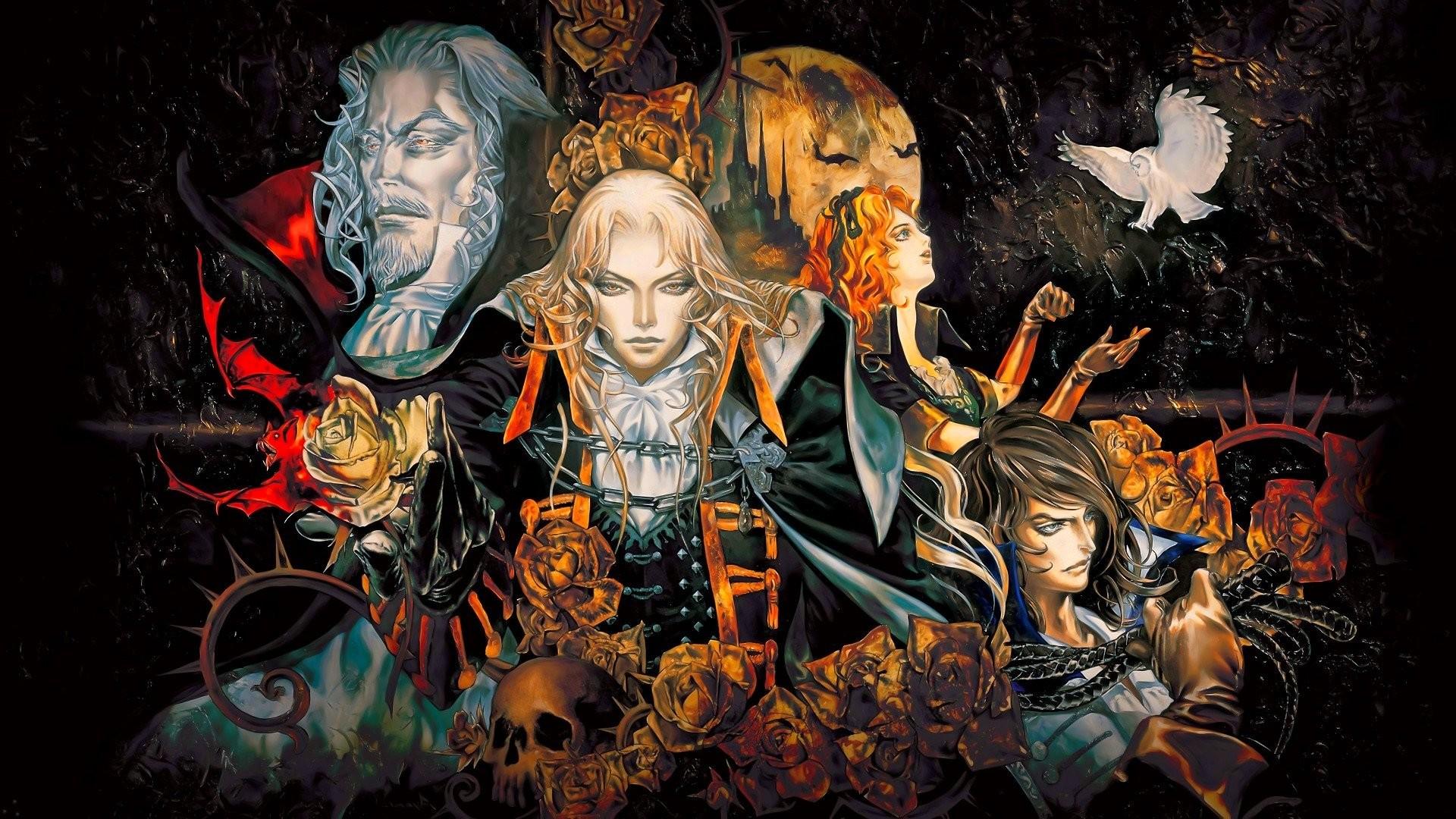 Res: 1920x1080, castlevania, Fantasy, Dark, Vampire, Horror, Evil, Warrior, Gothic  Wallpapers HD / Desktop and Mobile Backgrounds