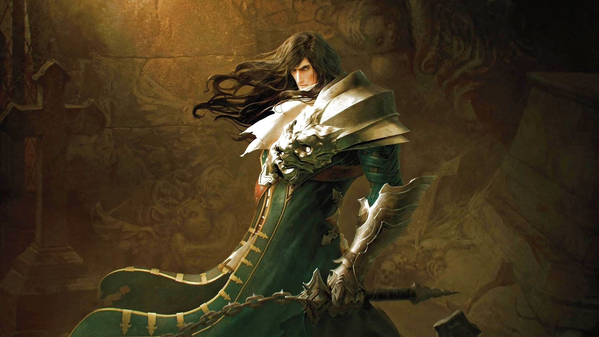 Res: 1920x1080, horror, evil, digital drawings,castlevania, fantasy, warrior, fantasy,