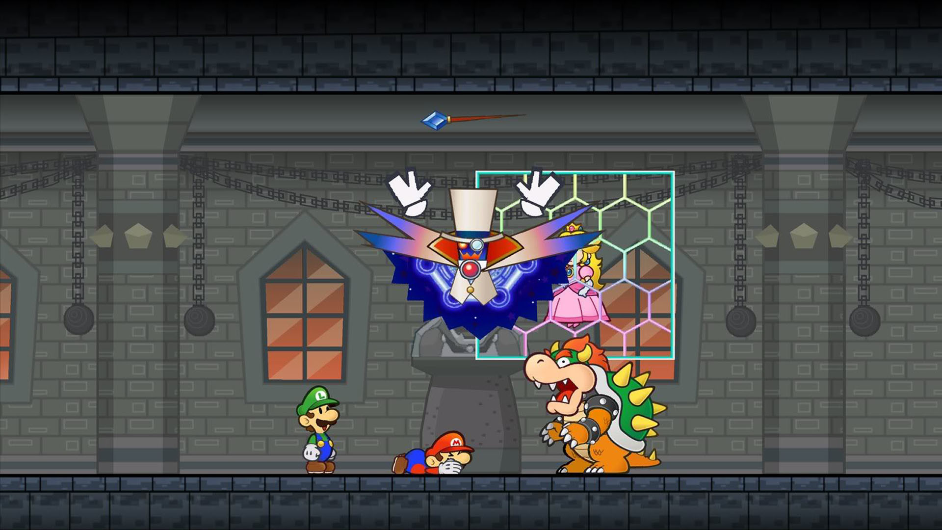 Res: 1920x1080, Super Paper Mario And Bowser