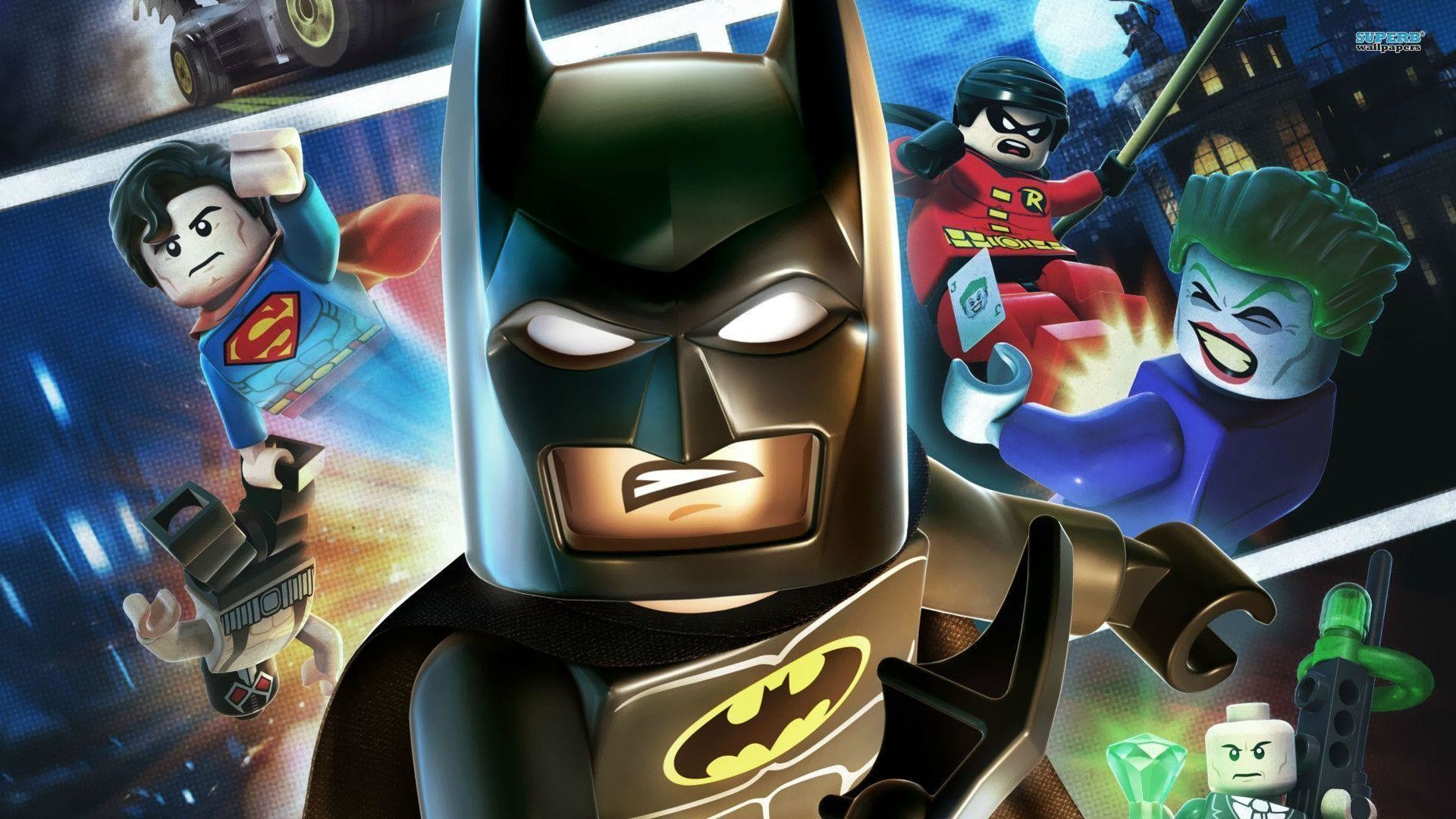 Lego Superheroes Wallpapers Hd Wallpaper Collections