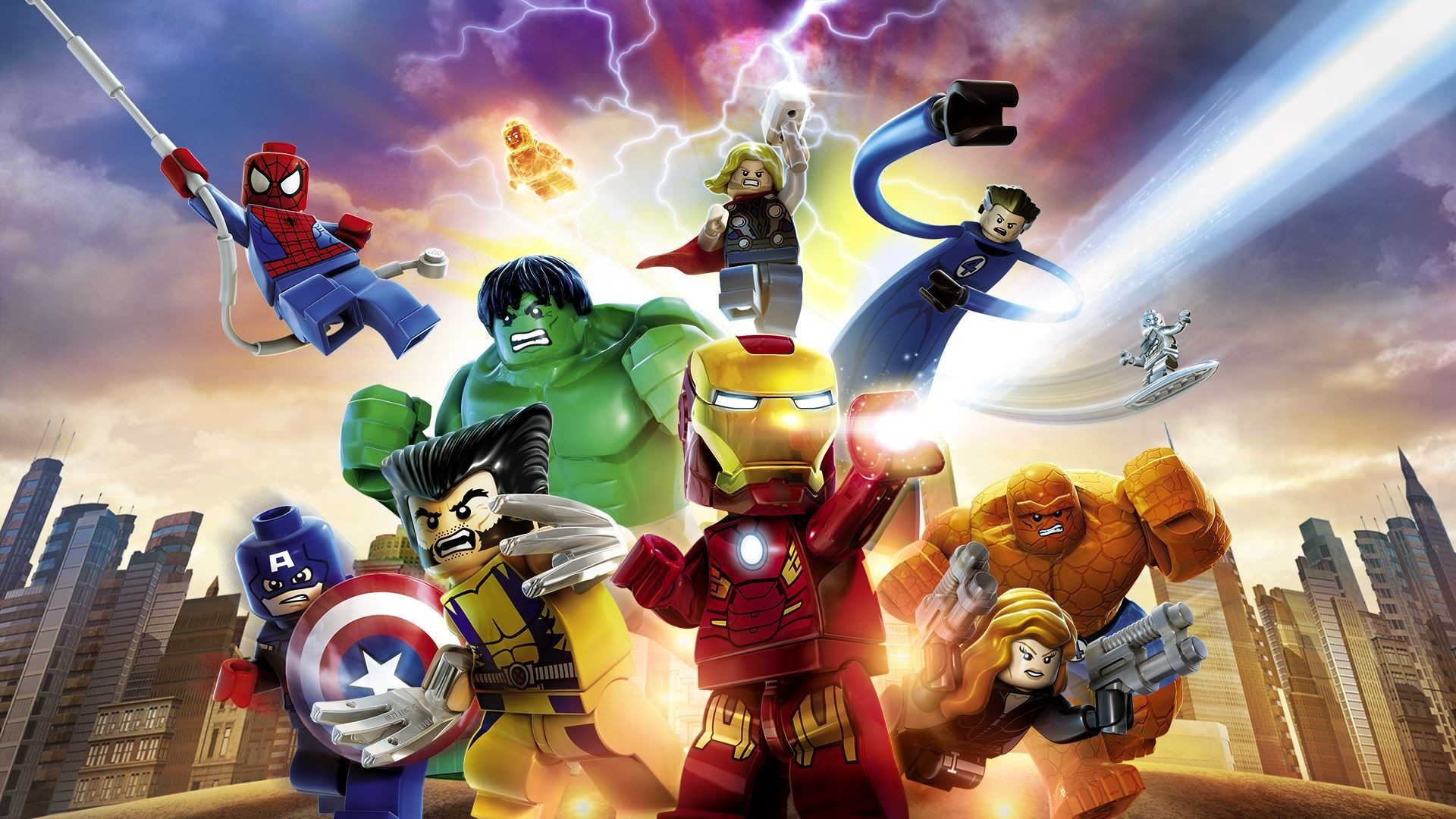 Res: 1920x1080, LEGO Marvel Super Heroes HD Wallpapers 2 - 1920 X 1080 | stmed.net