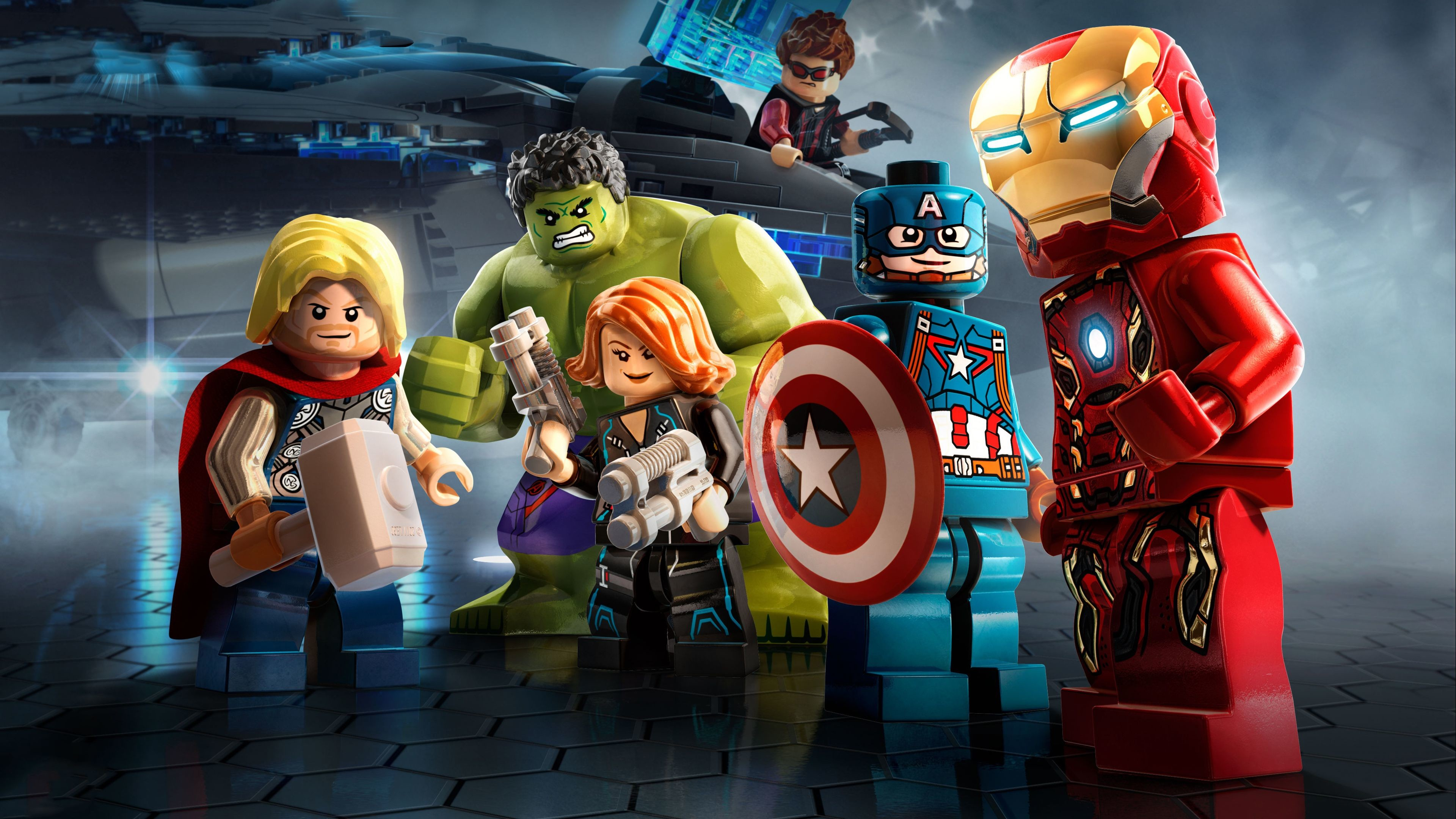 Res: 3840x2160, Marvel Avengers Lego 4k superheroes wallpapers, lego wallpapers, hd- wallpapers, avengers-wallpapers, 4k-wallpapers
