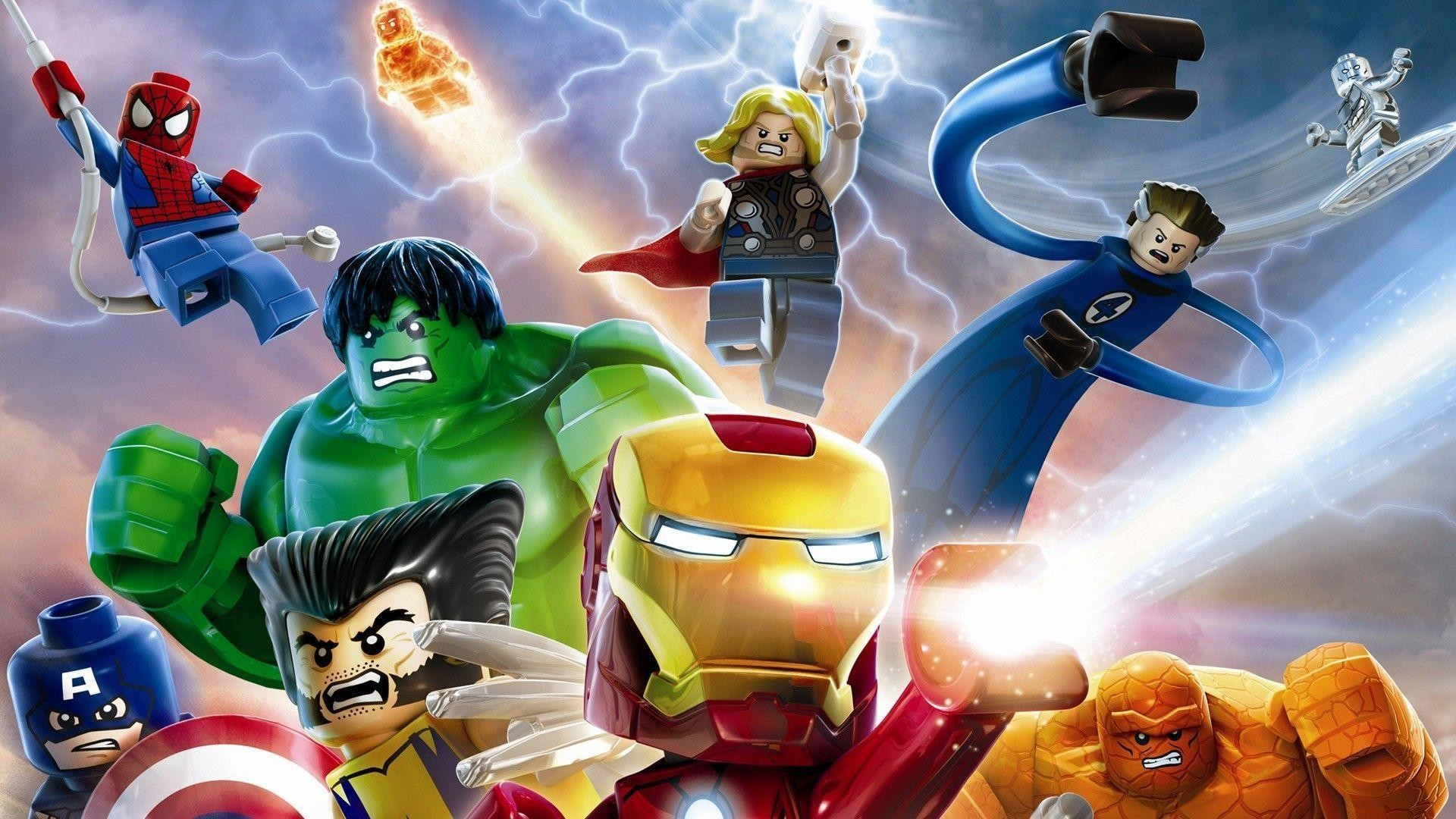 Res: 1920x1080, 17 Lego Marvel Super Heroes Wallpapers | Lego Marvel Super Heroes .