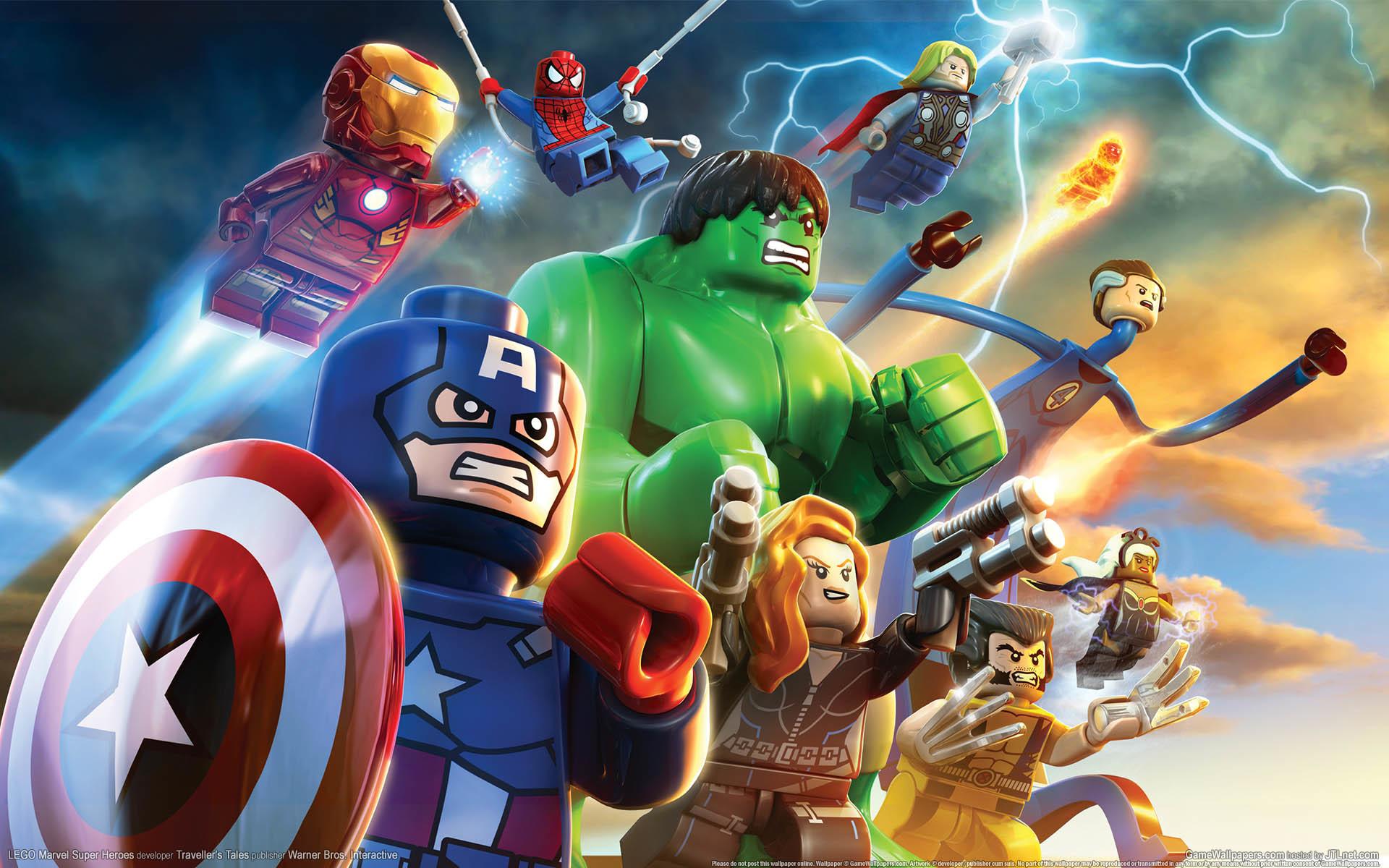 Res: 1920x1200, LEGO Marvel Super Heroes HD wallpaper 1 2