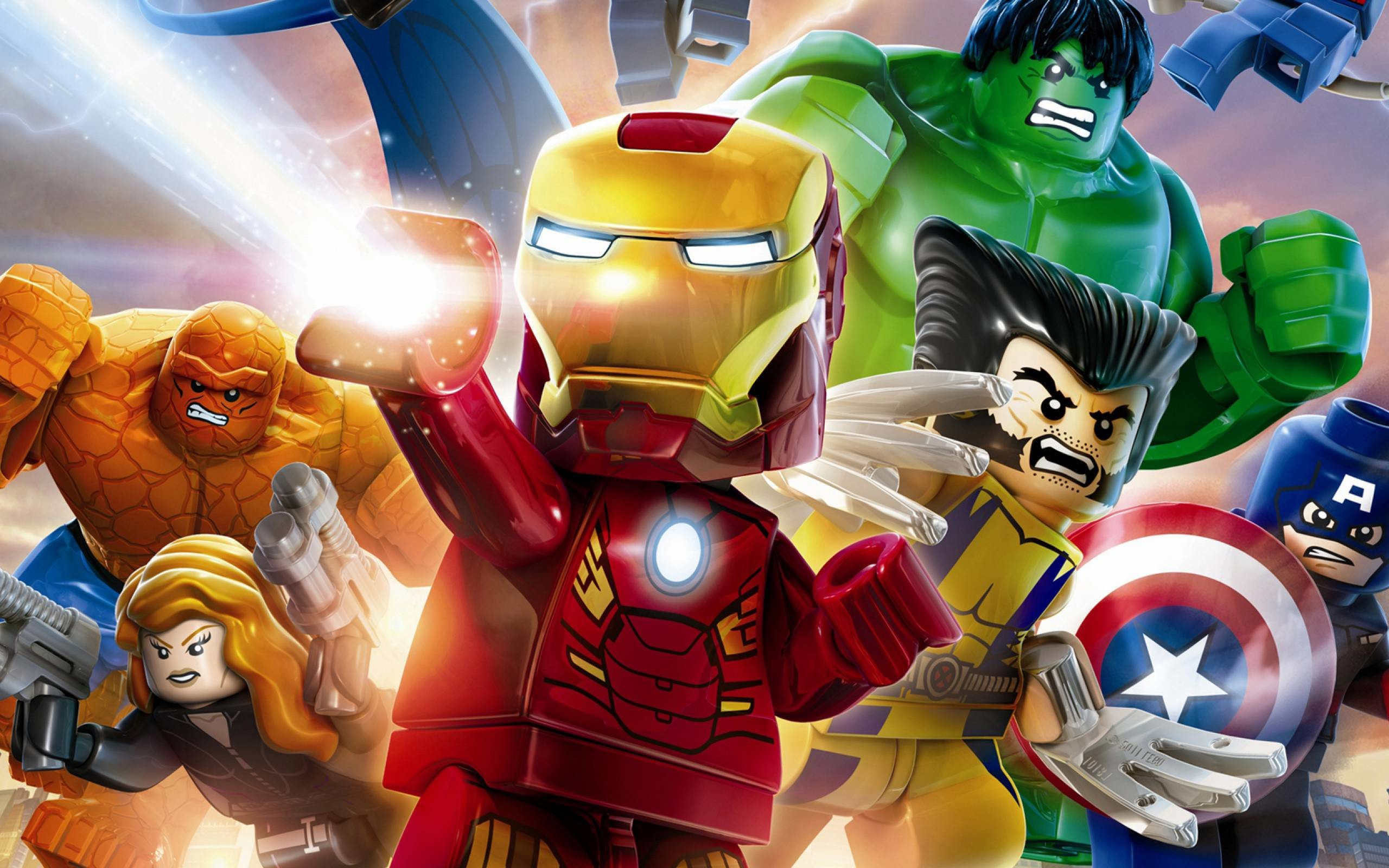 Res: 2560x1600, LEGO Marvel Super Heroes HD Wallpapers