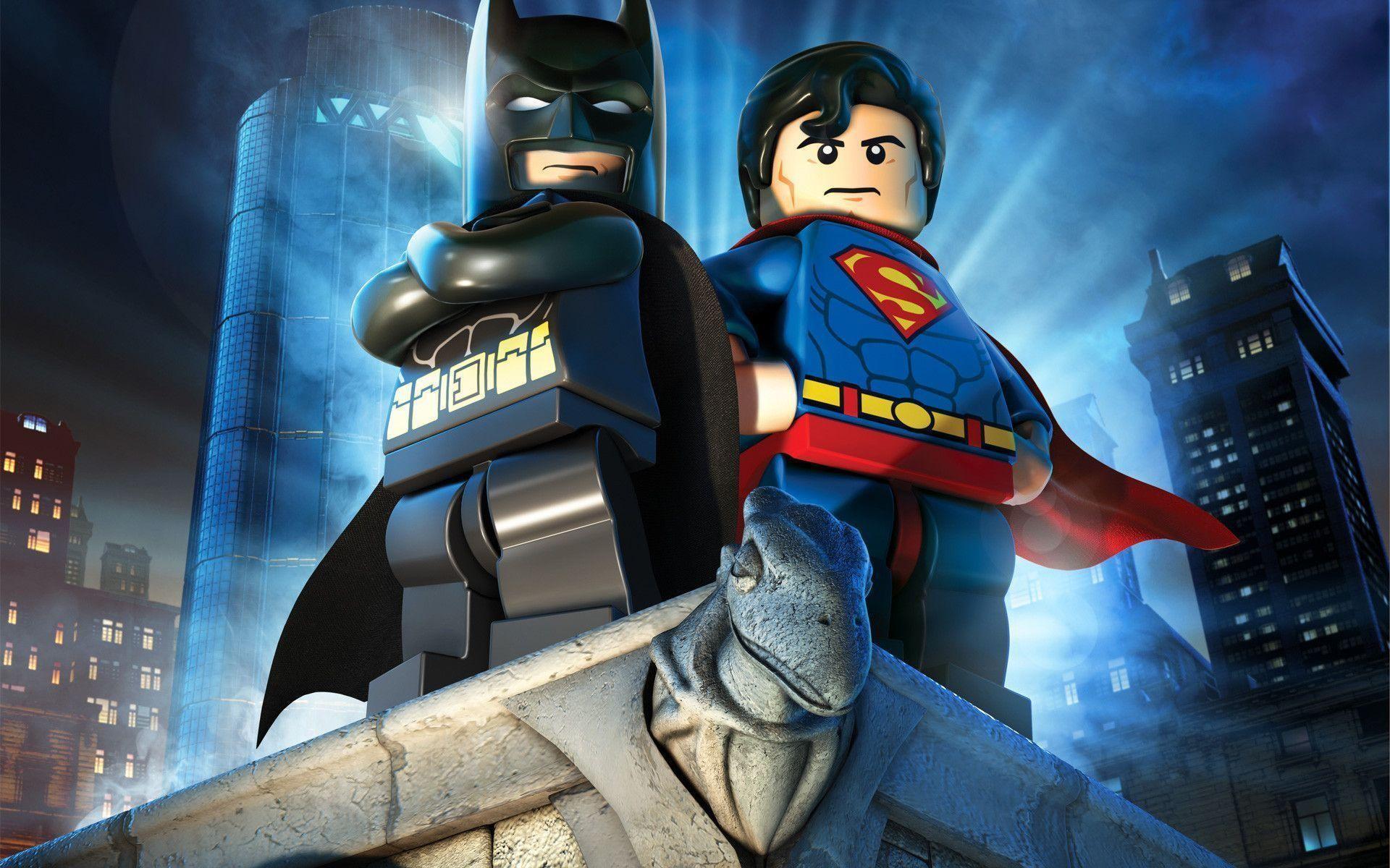 Res: 1920x1200, Free Lego Batman 2: DC Super Heroes Wallpaper in