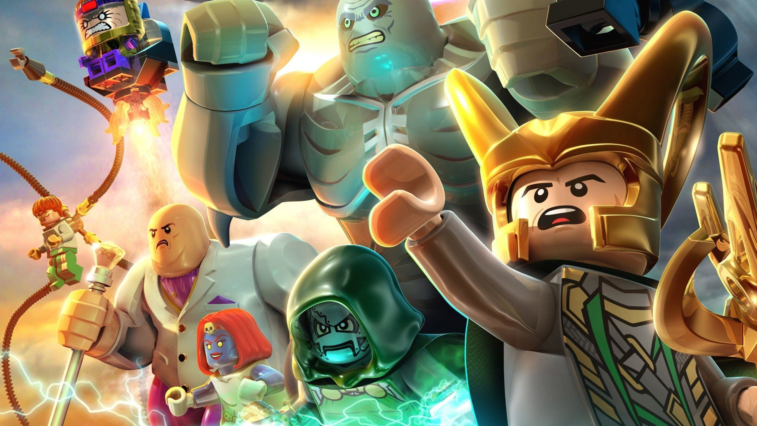Res: 2560x1440, LEGO Marvel Super Heroes HD Wallpapers