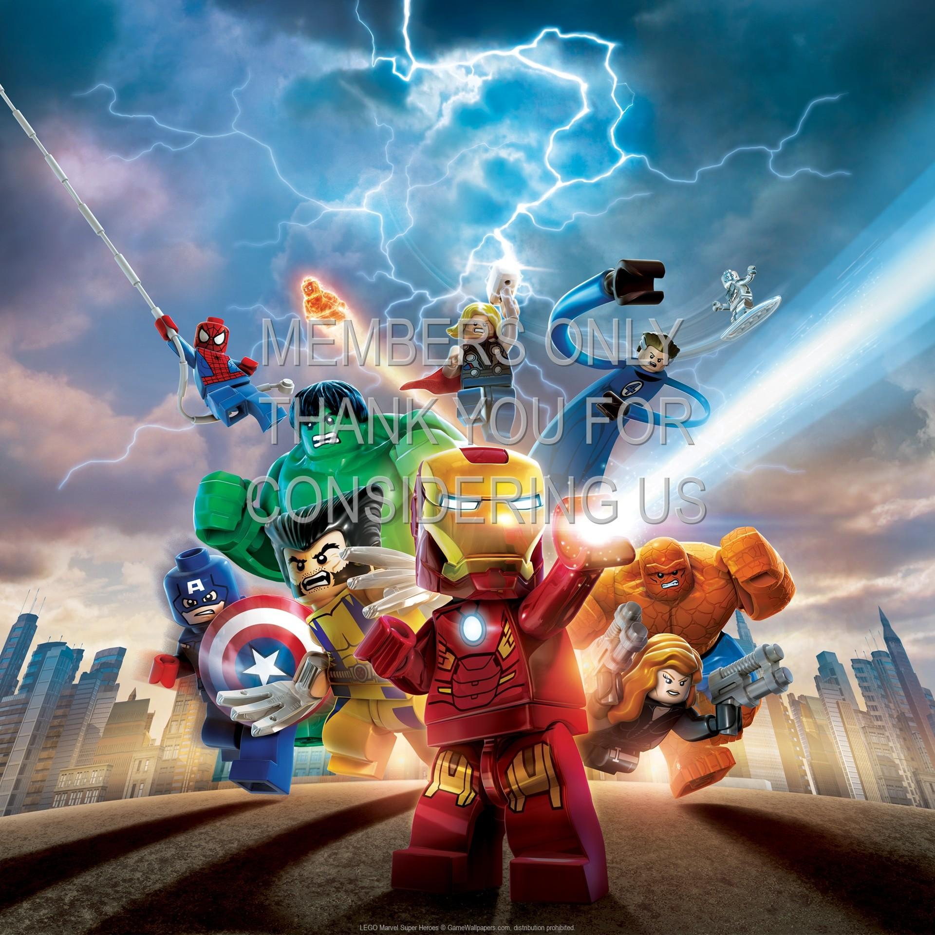 Res: 1920x1920, LEGO Marvel Super Heroes wallpaper 01 @ 1920x1080