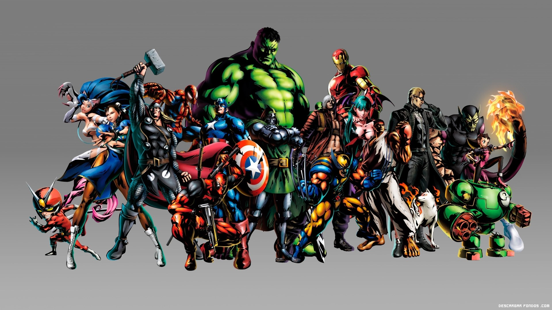 Res: 1920x1080, Marvel Super Heroes Exclusive HD Wallpapers 6647