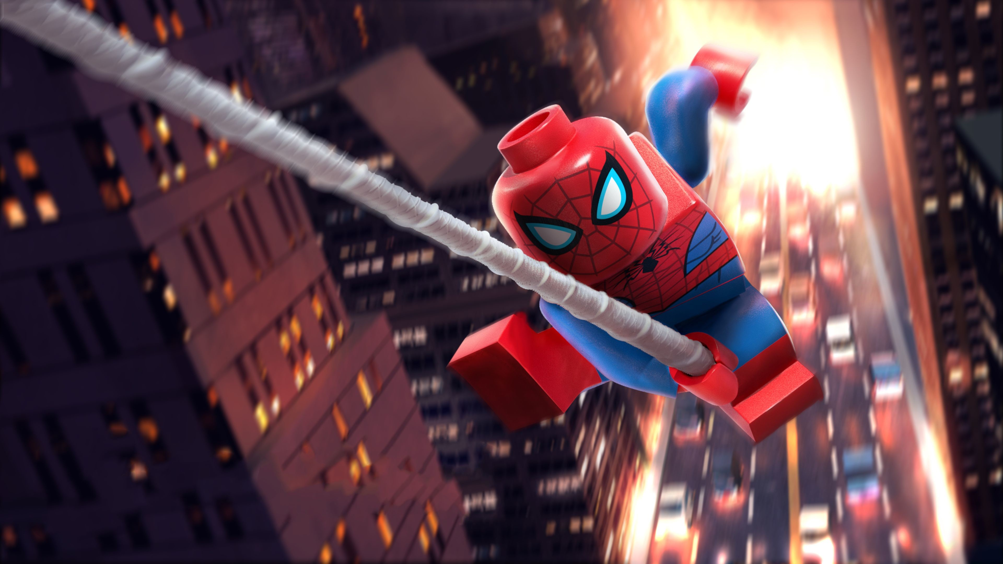 Res: 3840x2160, Lego Spiderman 5k superheroes wallpapers, spiderman wallpapers, lego  wallpapers, hd-wallpapers, 5k wallpapers, 4k-wallpapers