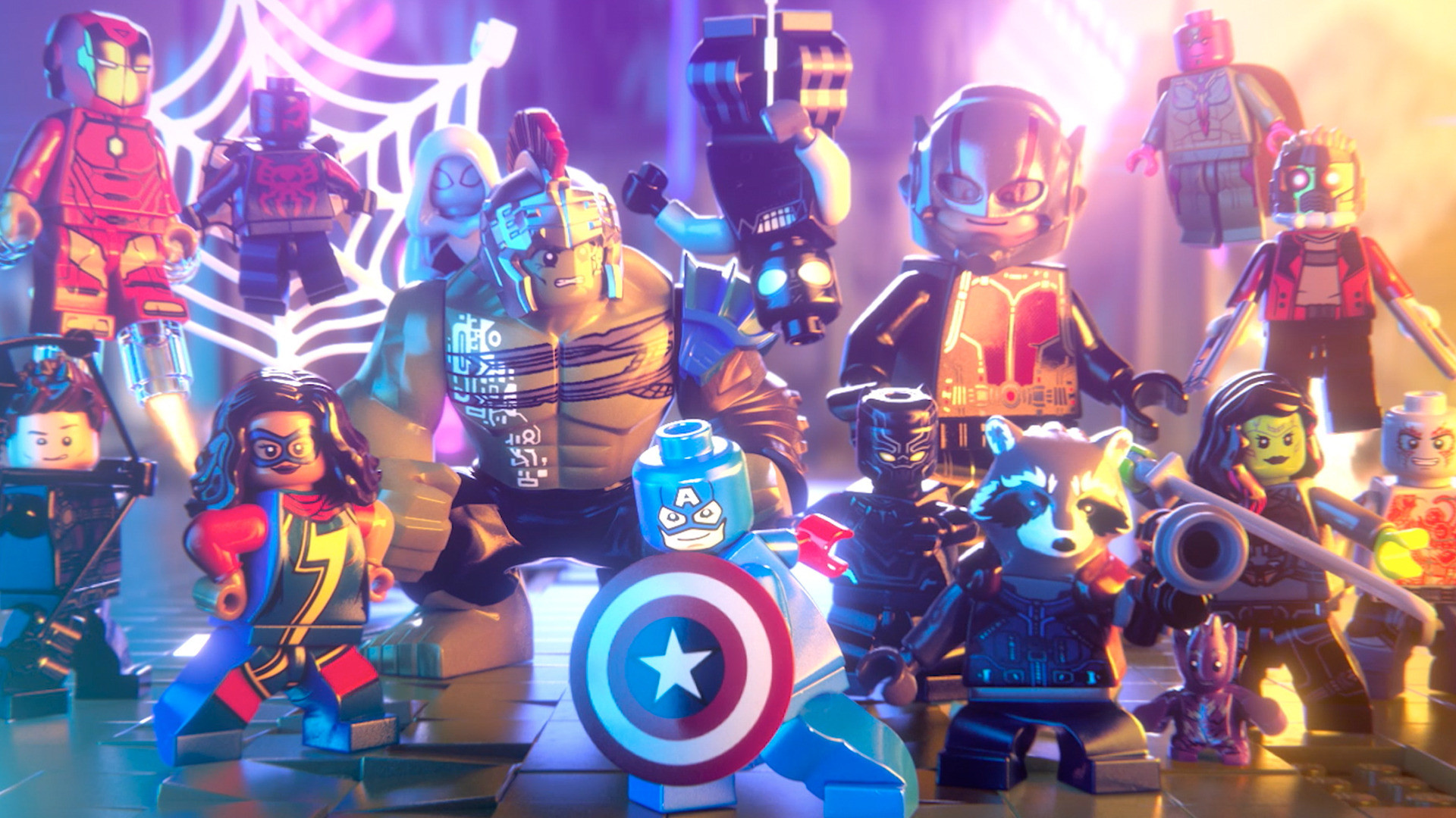 Res: 1920x1080, LEGO Marvel Super Heroes HD Wallpapers