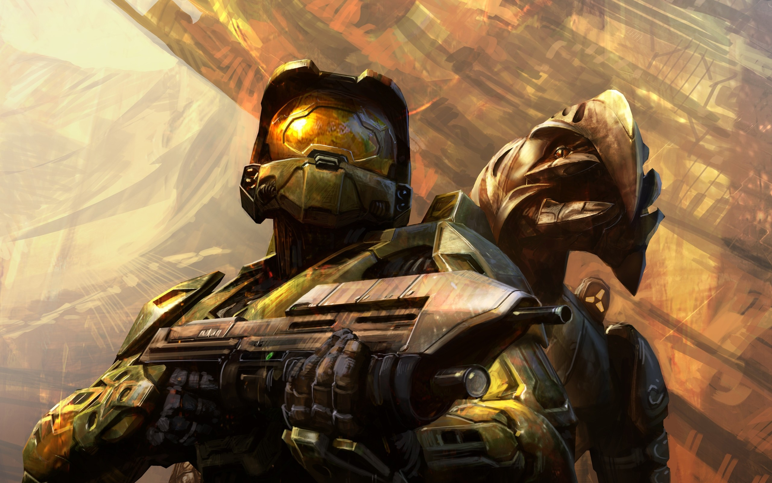 Res: 2560x1600, Halo 3 HD Wallpaper | Background Image |  | ID:374767 - Wallpaper  Abyss