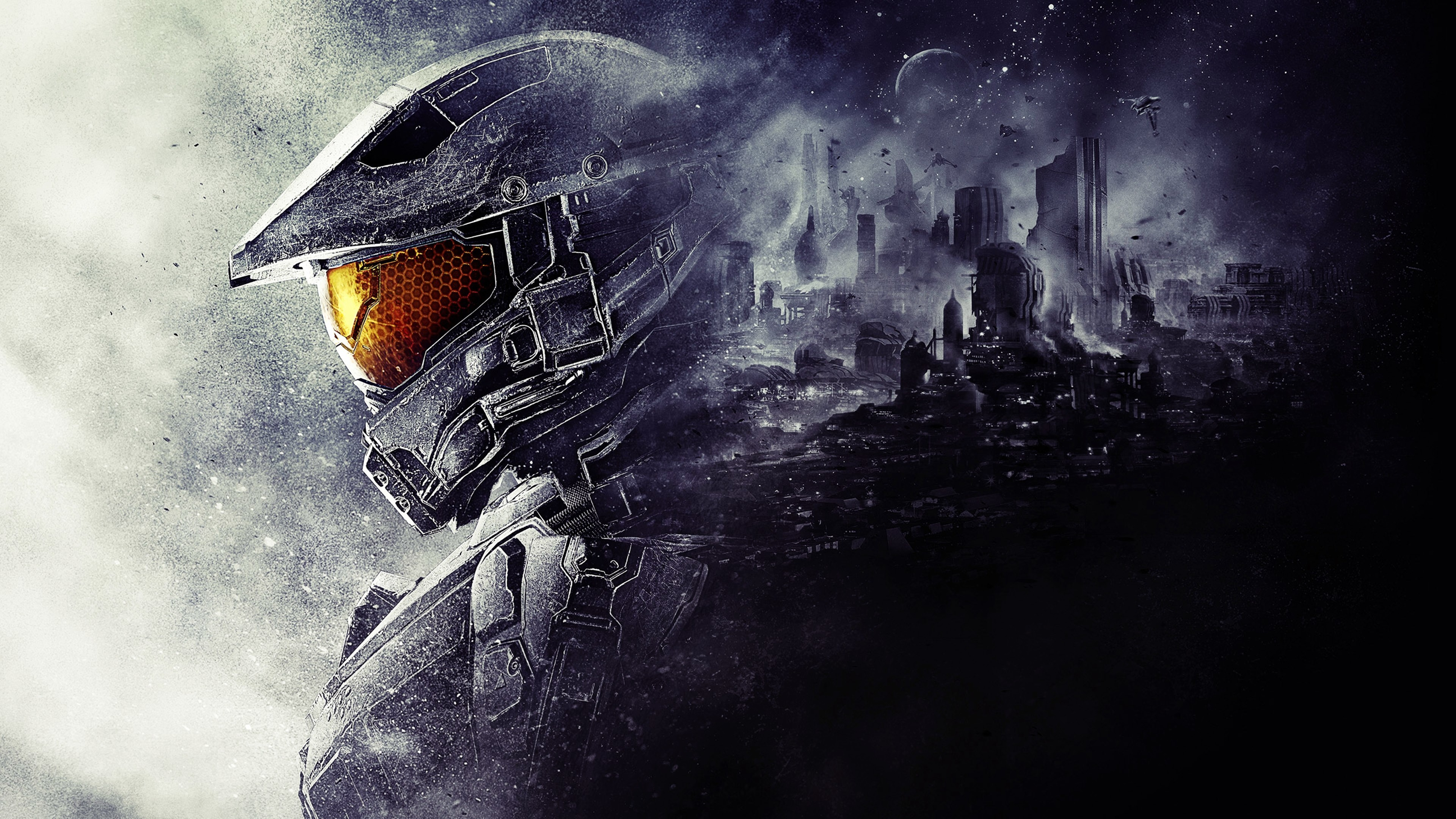 Res: 3840x2160,  1920x1200 Wallpapers For > Halo 3 Wallpaper Master Chief And  Arbiter