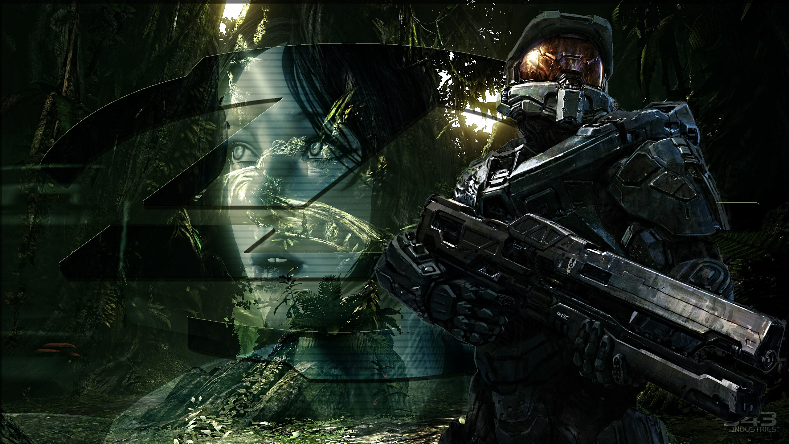 Res: 2560x1440, Halo Master Chief And Arbiter Wallpaper