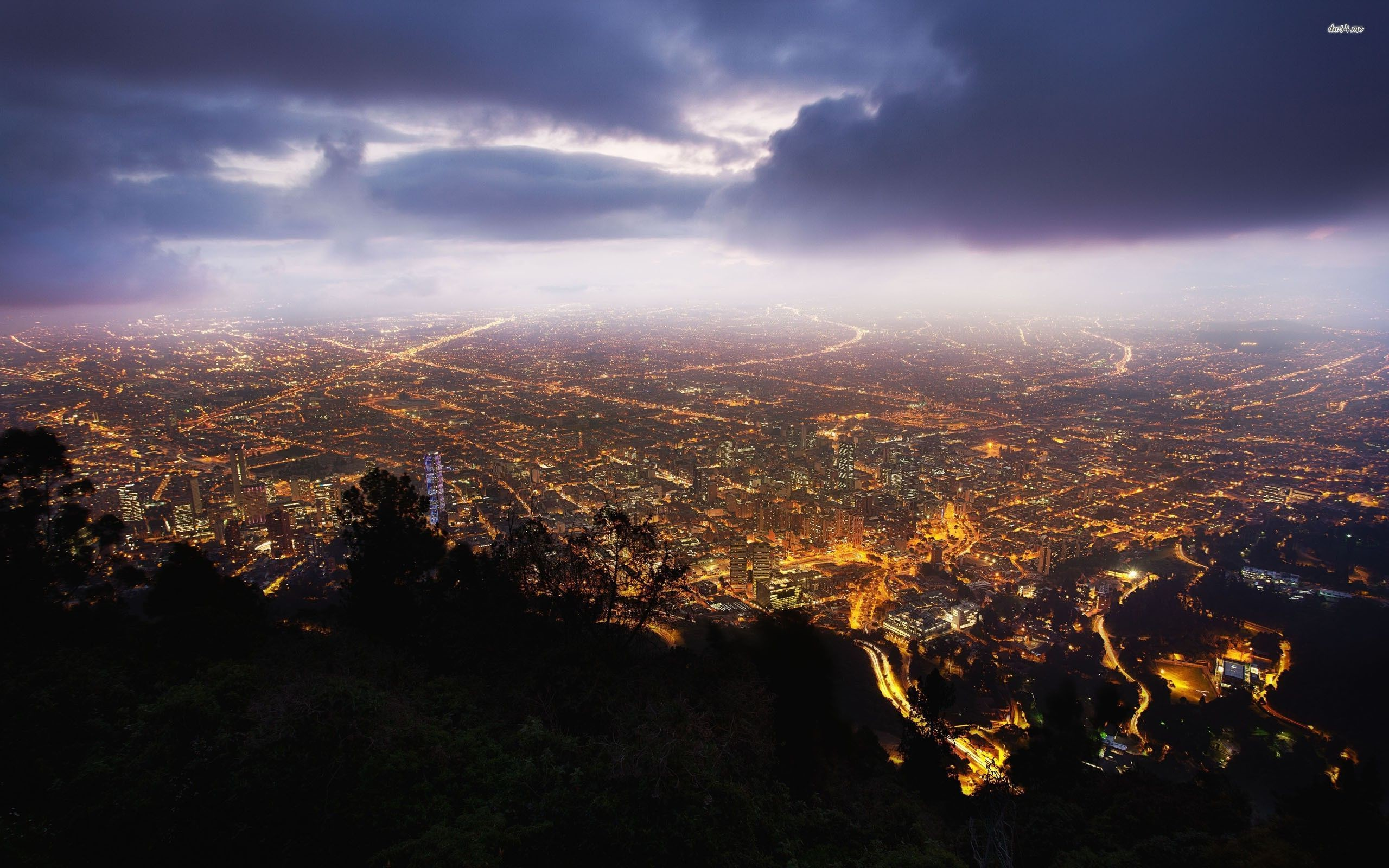 Res: 2560x1600, ... Bogota, Colombia wallpaper  ...