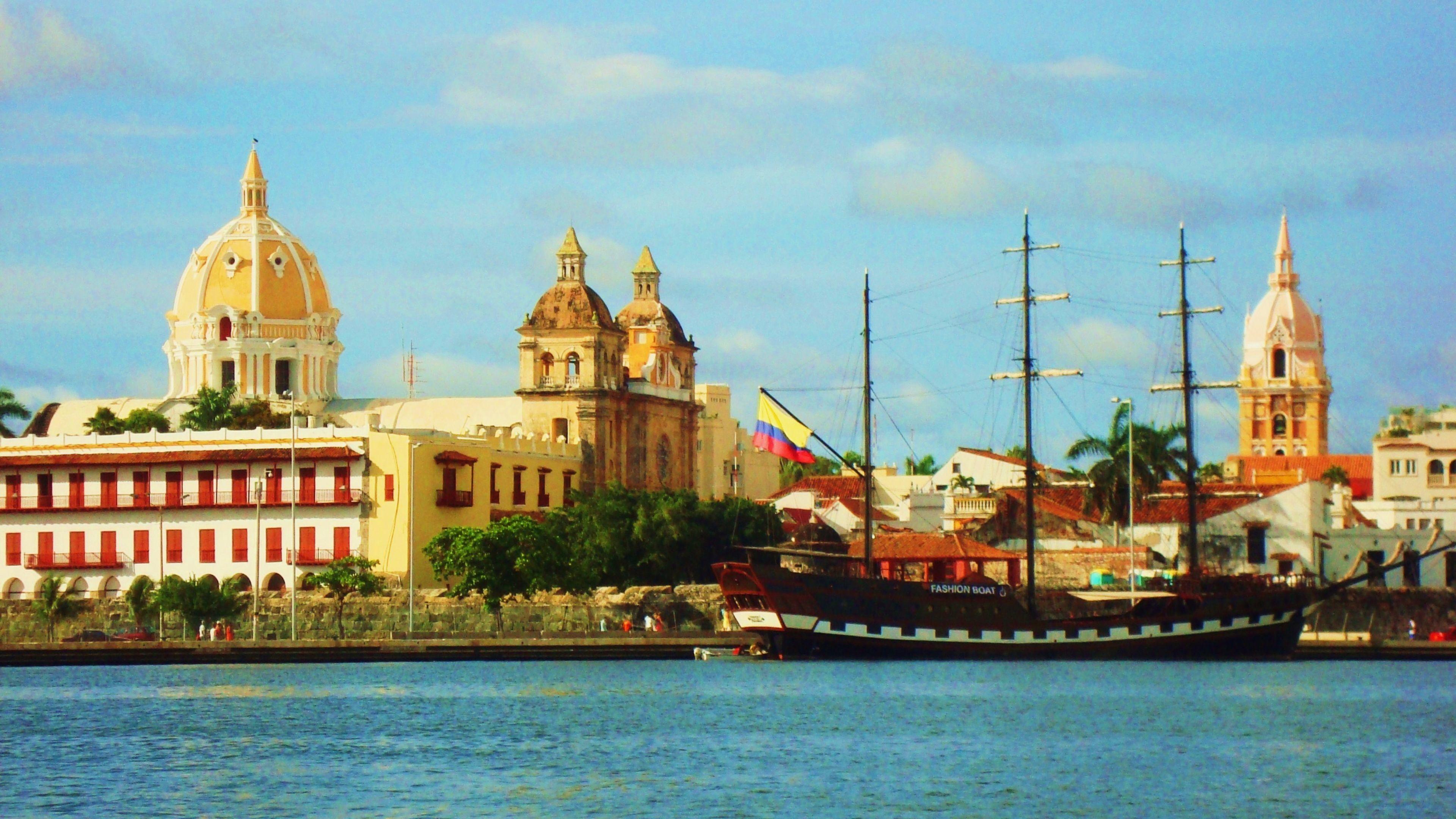 Res: 3840x2160, Download Cartagena Colombia 4K Wallpaper 4K