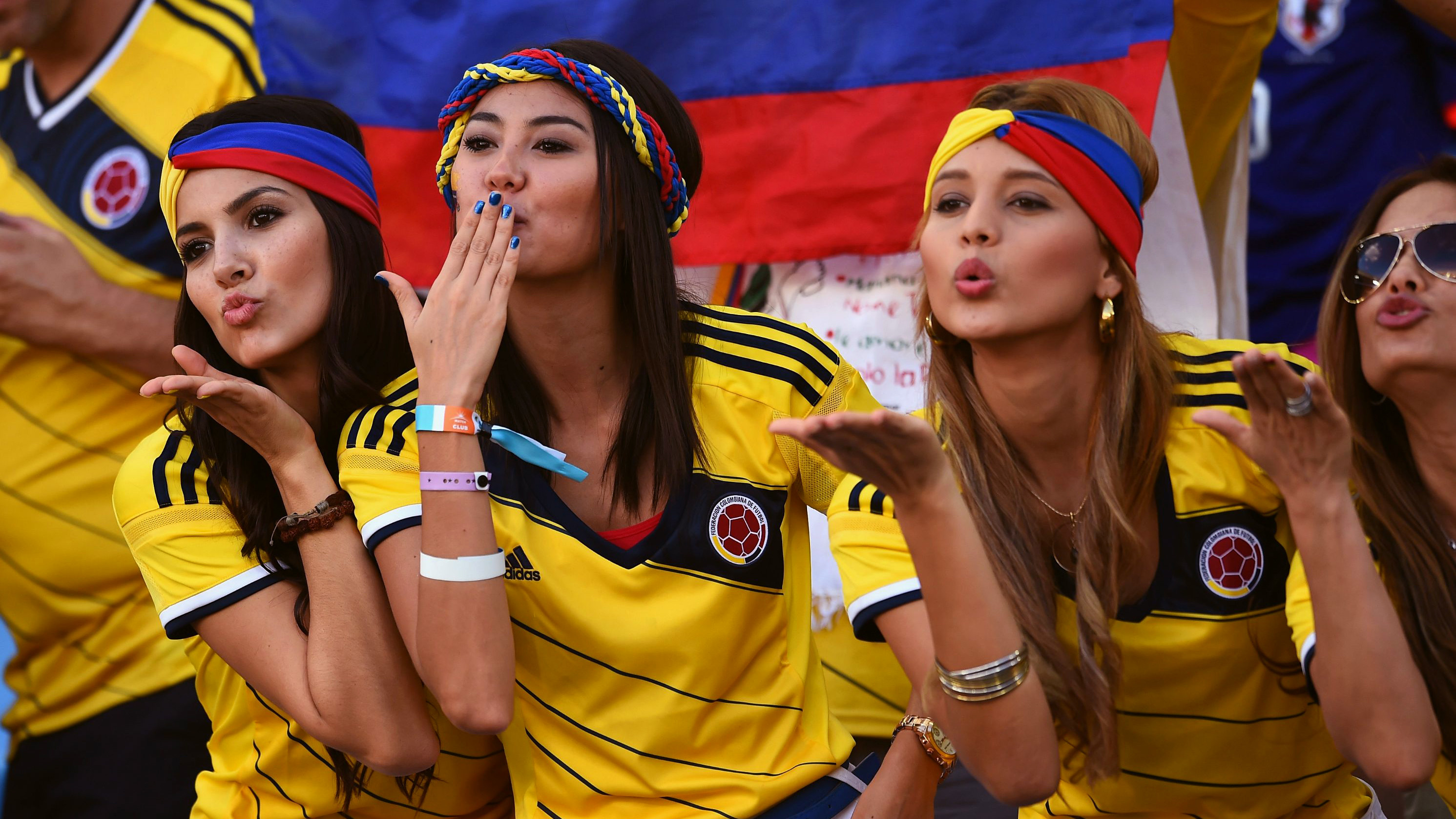 Res: 2982x1677, FIFA World Cup, Women, Colombia Wallpapers HD / Desktop and Mobile  Backgrounds