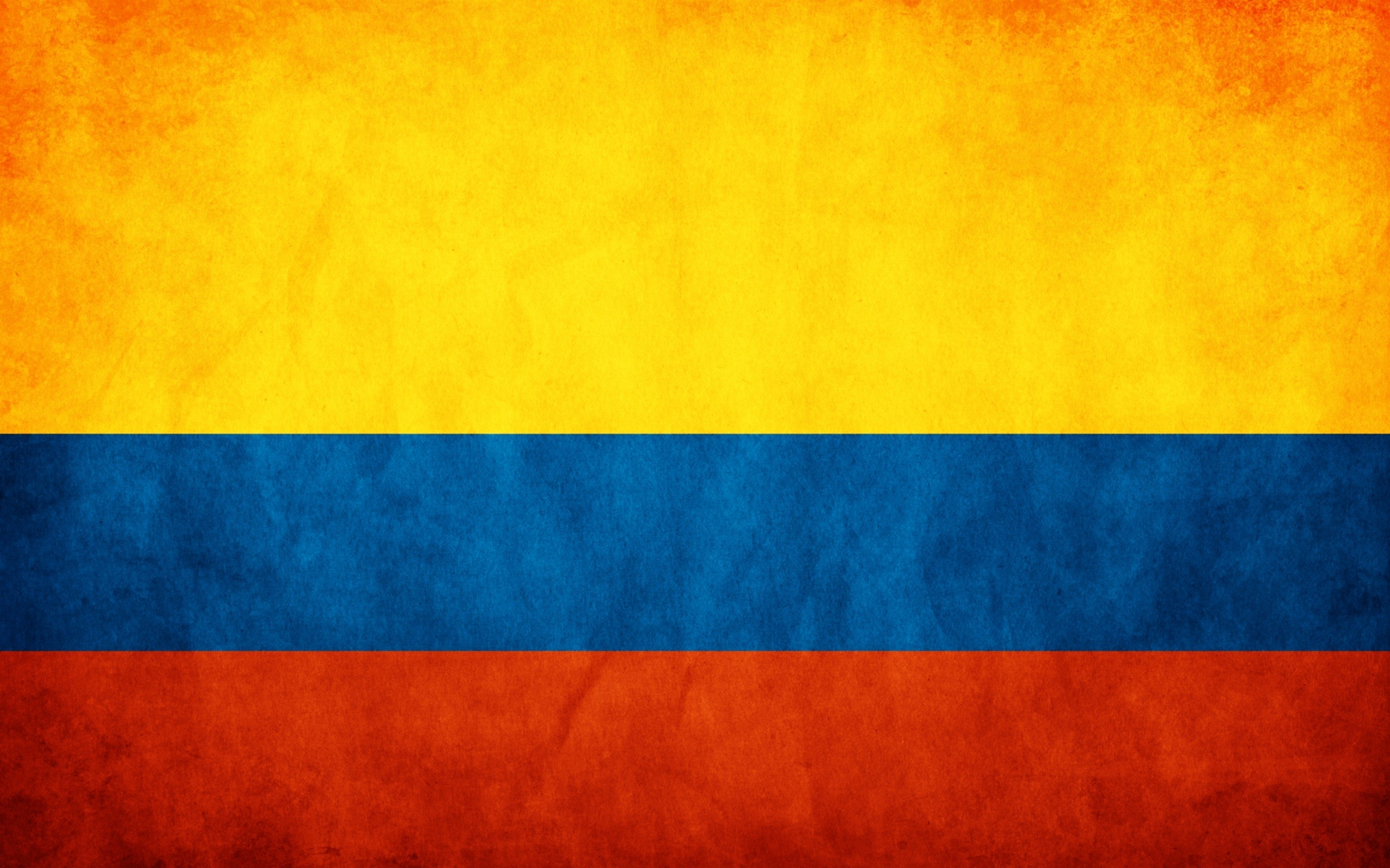 Res: 2560x1600, Colombia Flag Wallpaper