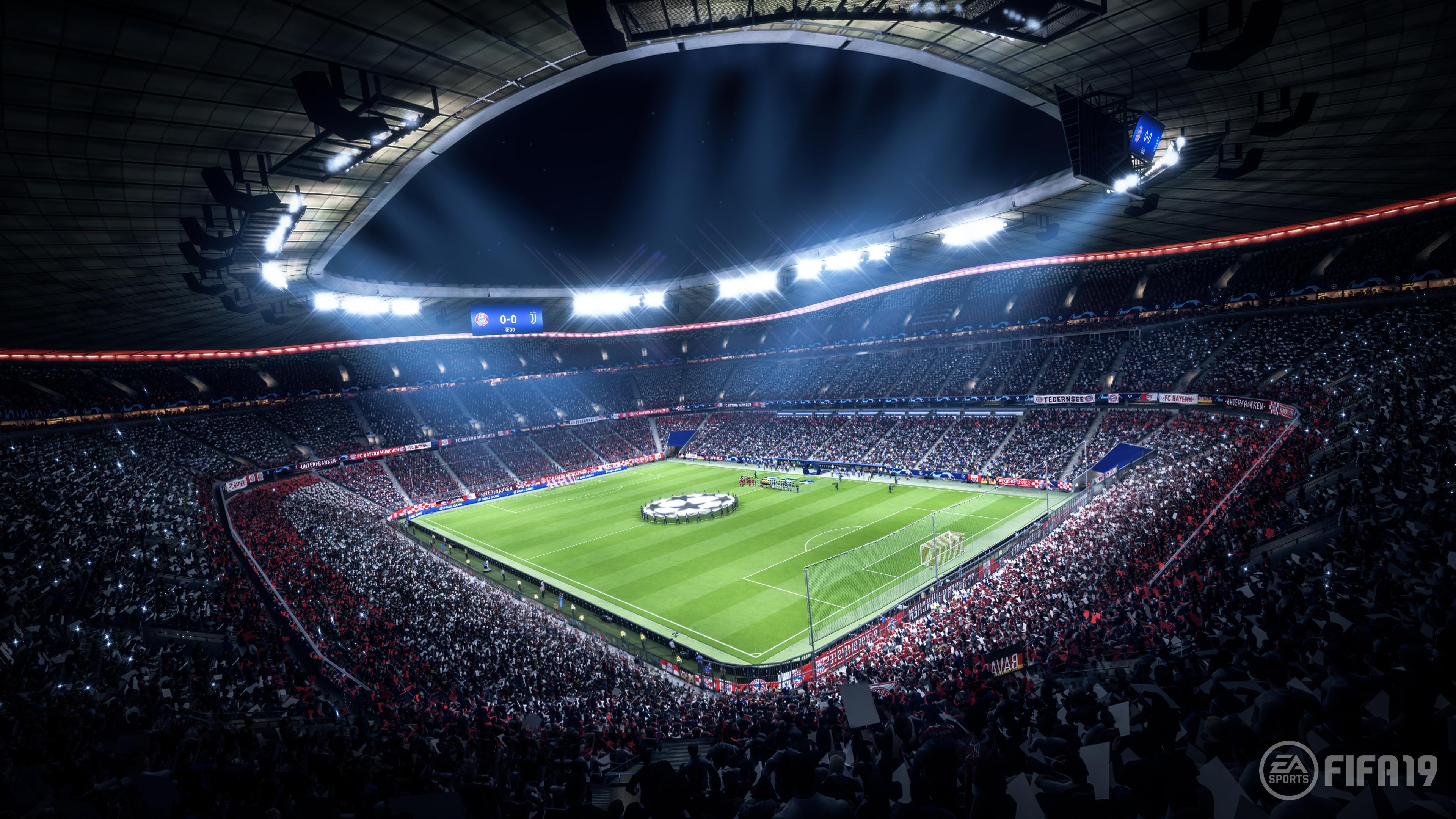 Res: 3840x2160, Fifa 19 Stadium 4k