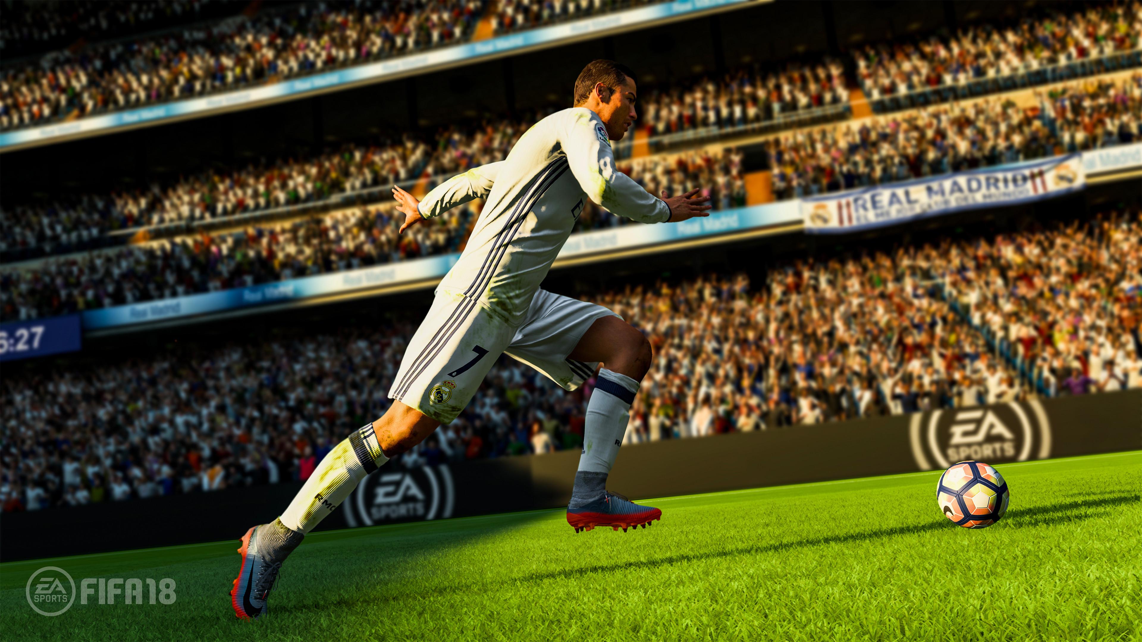 Res: 3840x2160, FIFA 18 4K Wallpaper ...