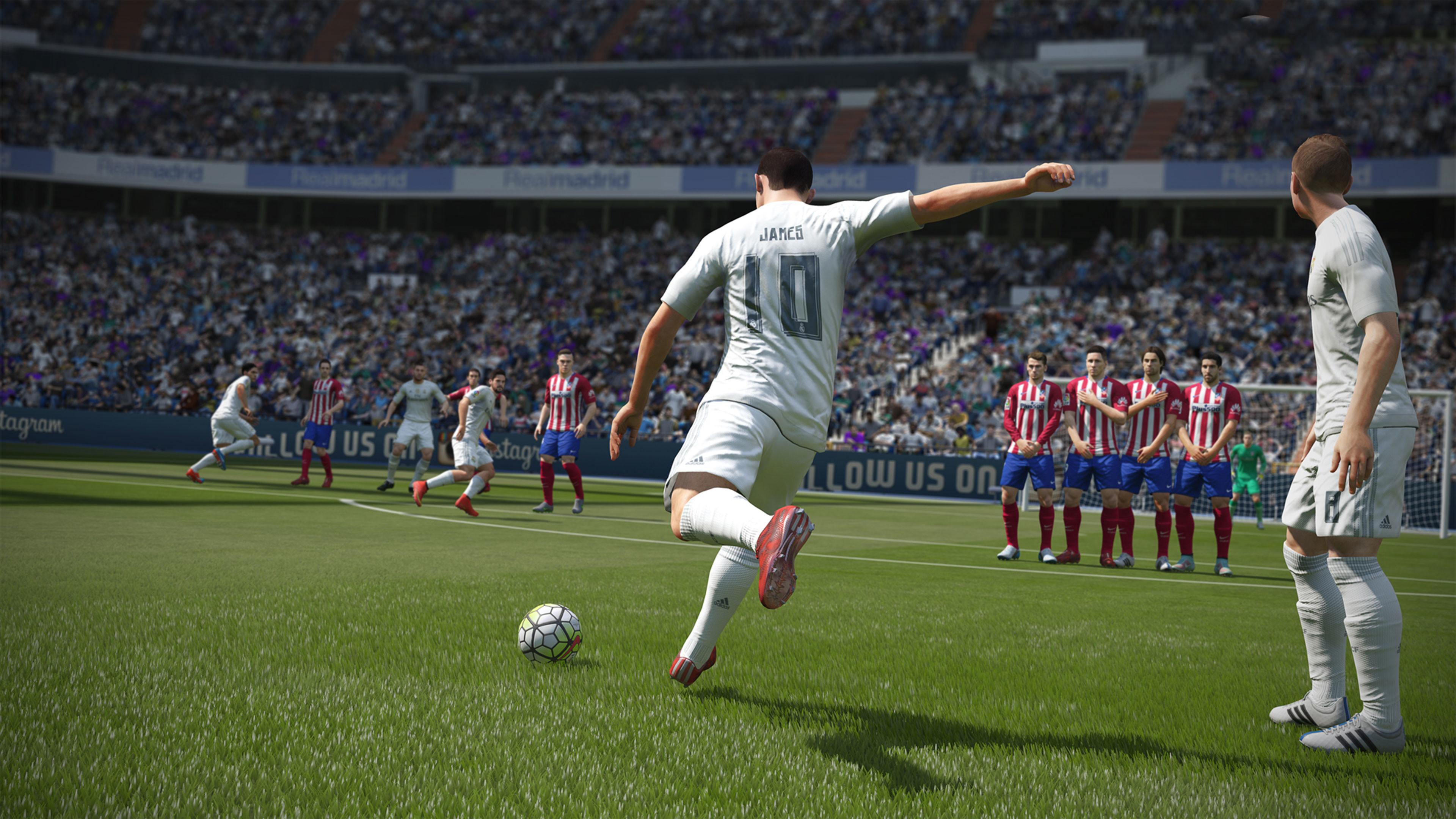 Res: 3840x2160, FIFA 17 4K Wallpaper ...