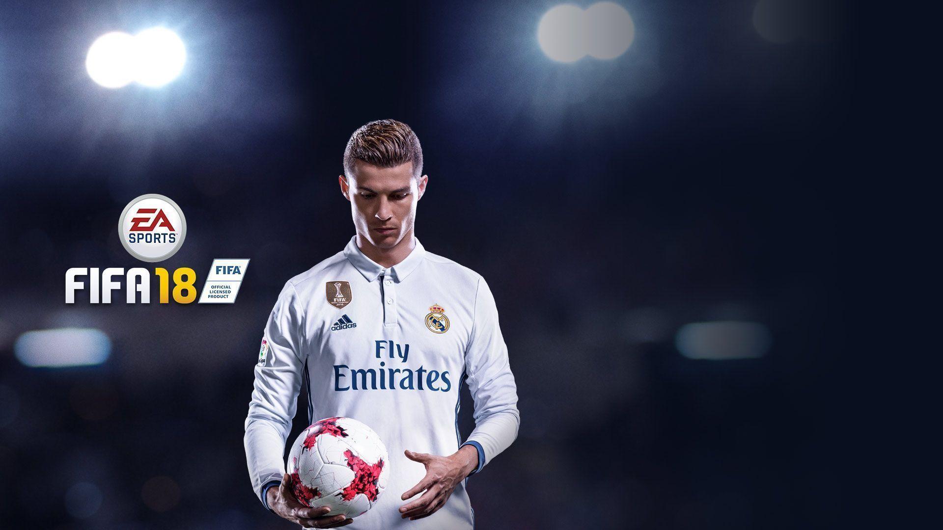 Res: 1920x1080, FIFA 18 Cover Star Cristiano Ronaldo - High Definition Cover .