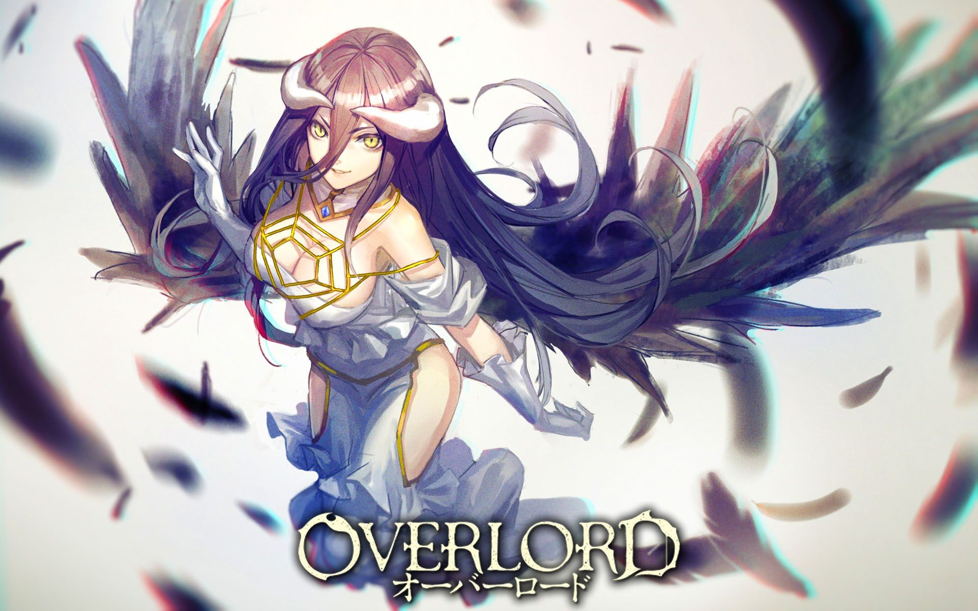Res: 1920x1200, Overlord Albedo HD Wallpaper