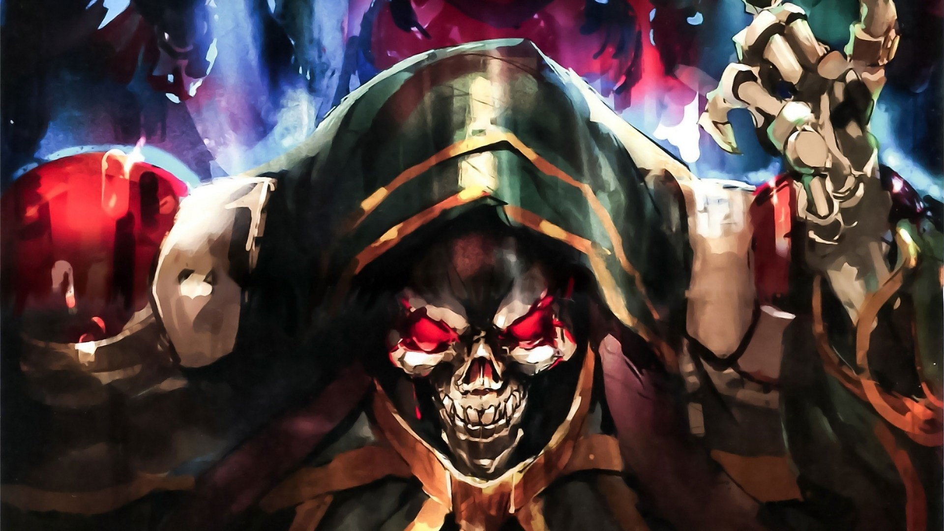 Res: 1920x1080, Overlord Ainz Ooal Gown 1080p HD Wallpaper Background