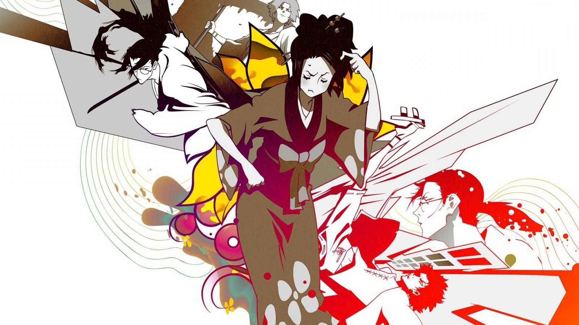 Res: 1920x1080, anime, Samurai Champloo, Fuu, Mugen, Jin (Samurai Champloo) Wallpapers HD /  Desktop and Mobile Backgrounds