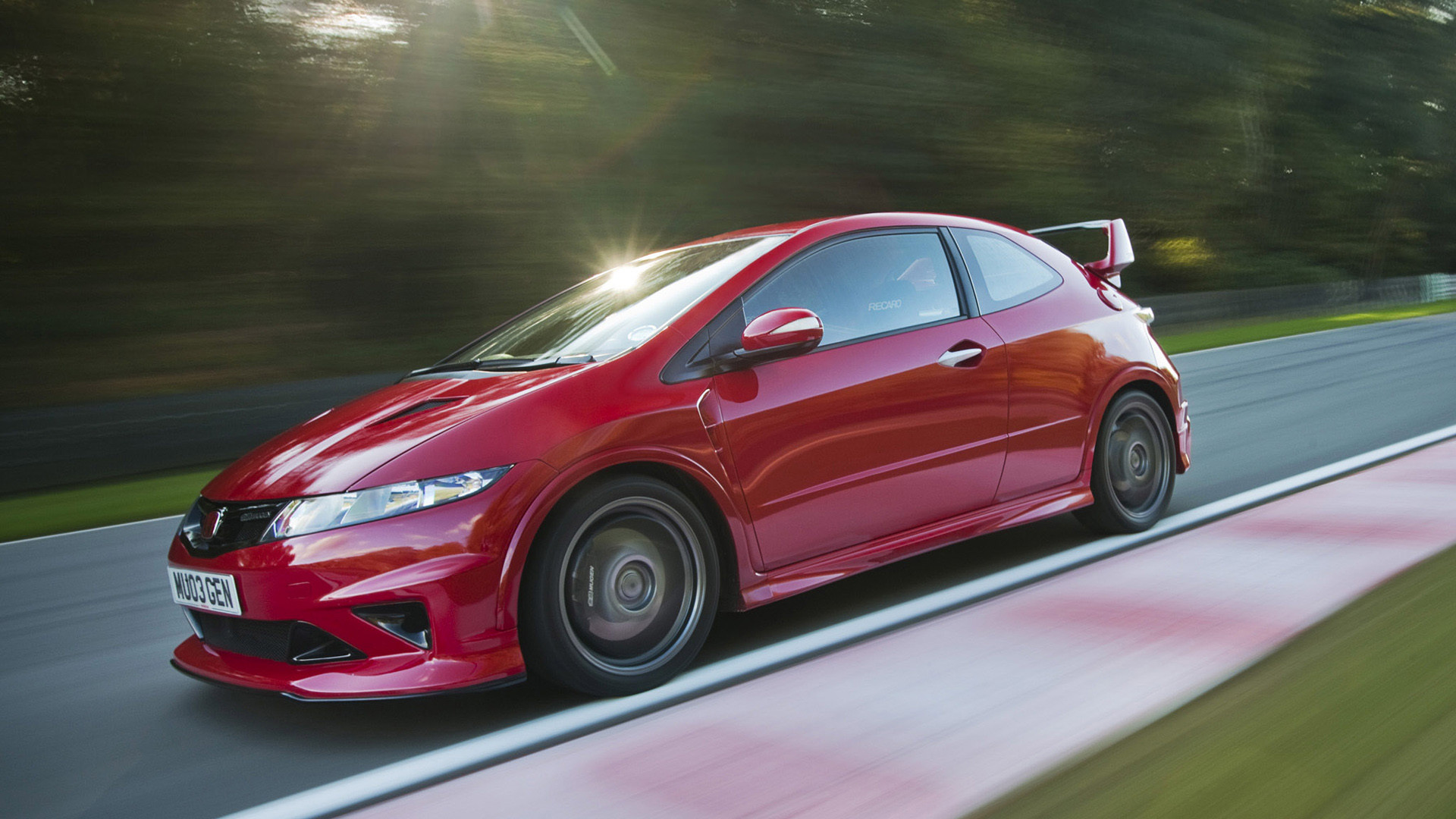 Res: 1920x1080, 2009 Honda Civic Type R Prototype by Mugen picture.
