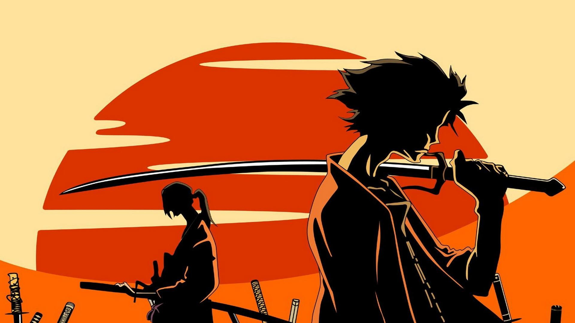 Res: 1920x1080, Samurai Champloo Mugen - wallpaper