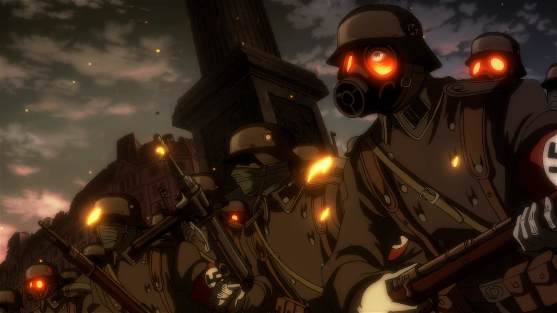 Res: 1920x1080, ... Hellsing Ultimate Wallpaper HQ ...