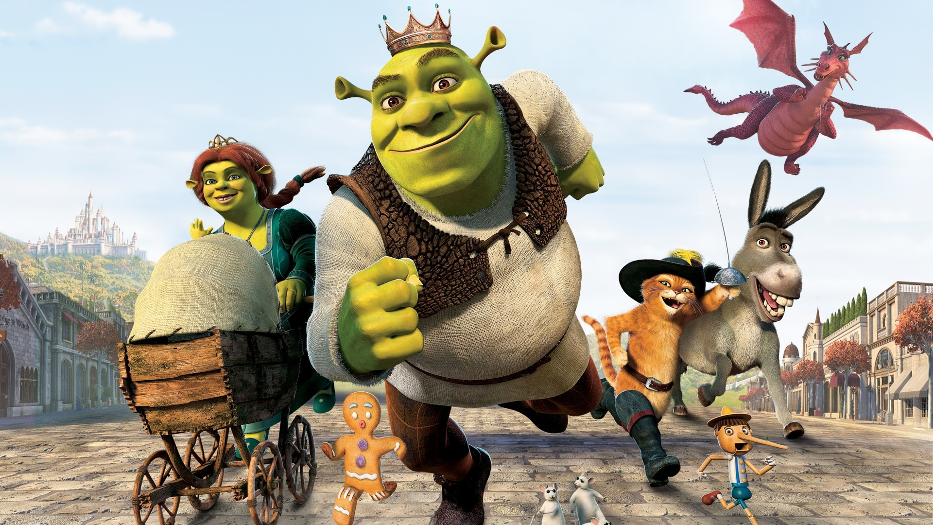 Res: 1920x1080, Shrek the Third HD Wallpaper | Background Image |  | ID:813519 -  Wallpaper Abyss