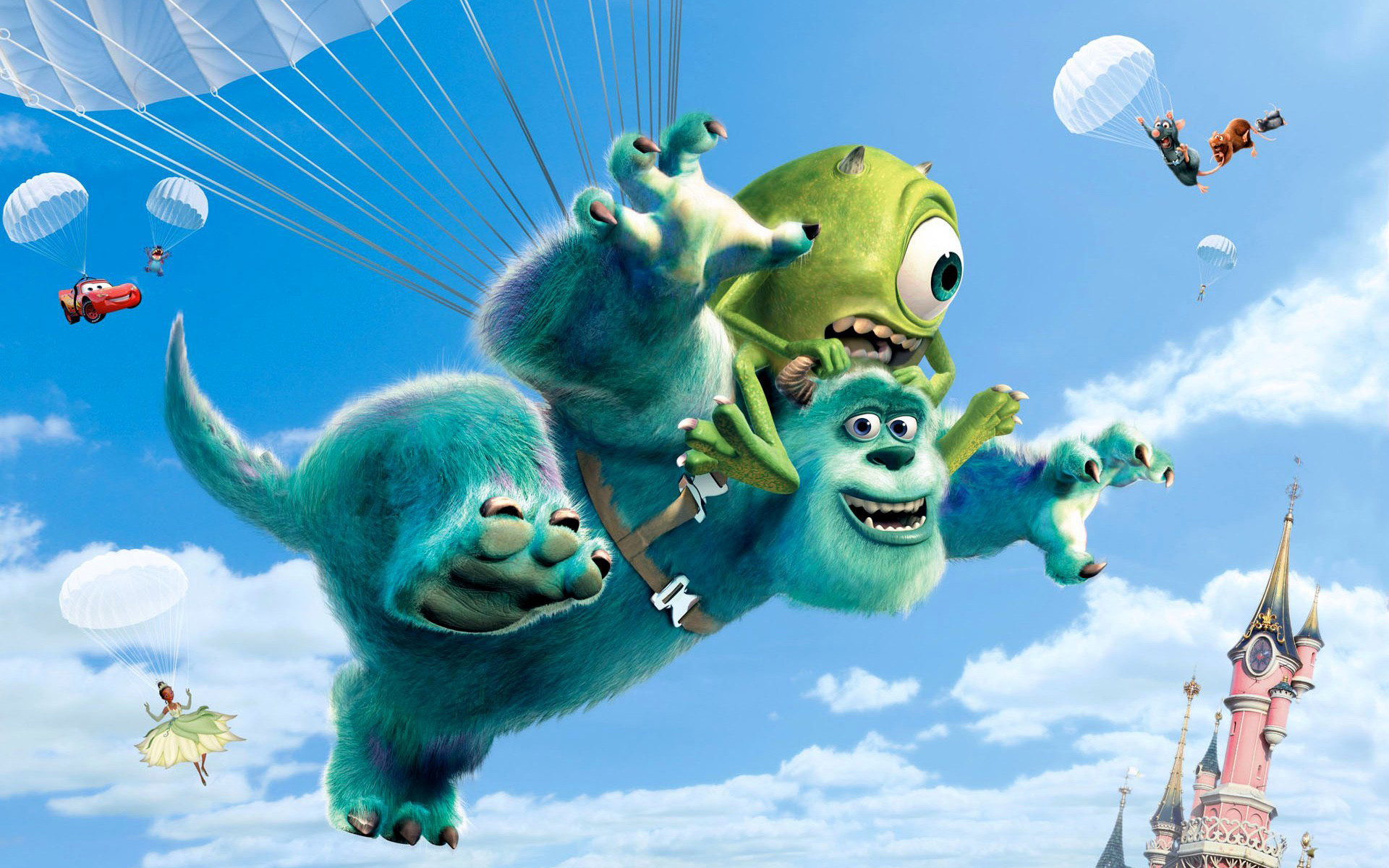 Res: 1920x1200, Disney Movies Monsters University