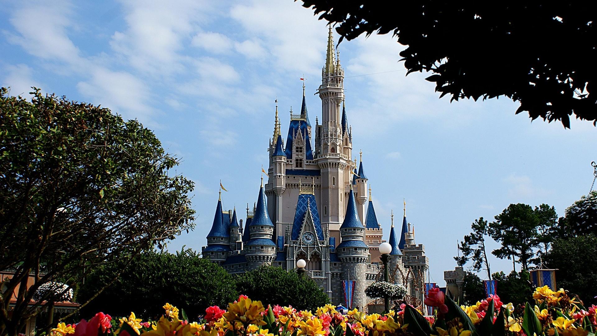 Res: 1920x1080, Cinderella Castle at Magic Kingdom Disney HD Wallpaper