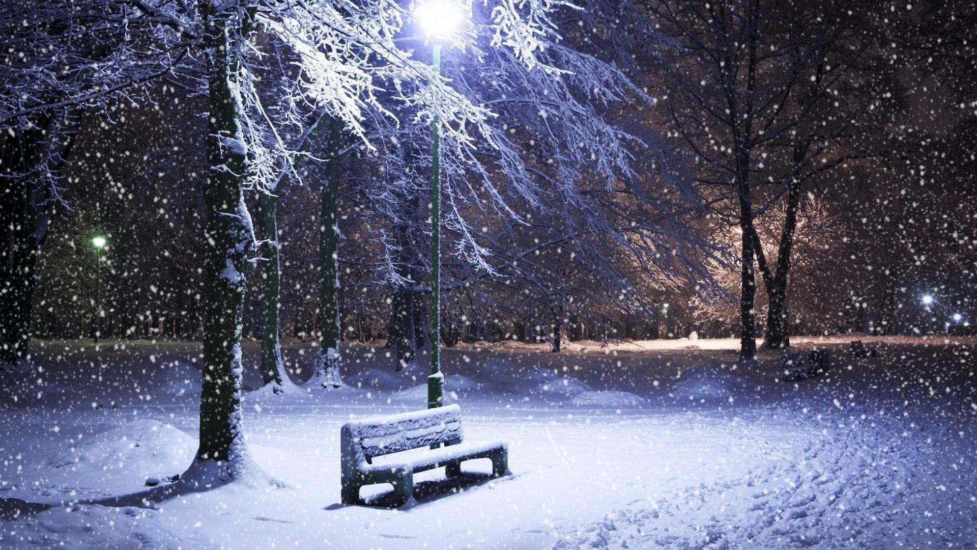 Res: 1920x1080, Snow-