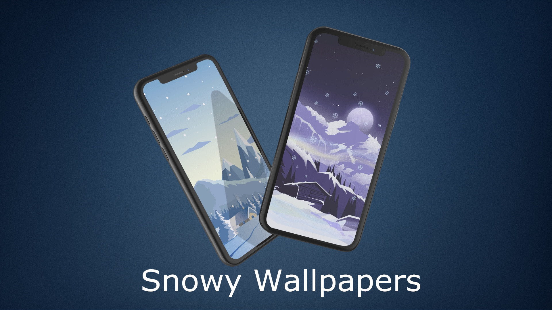 Res: 1920x1080, Snowy Wallpaper Illustrations for iPhone