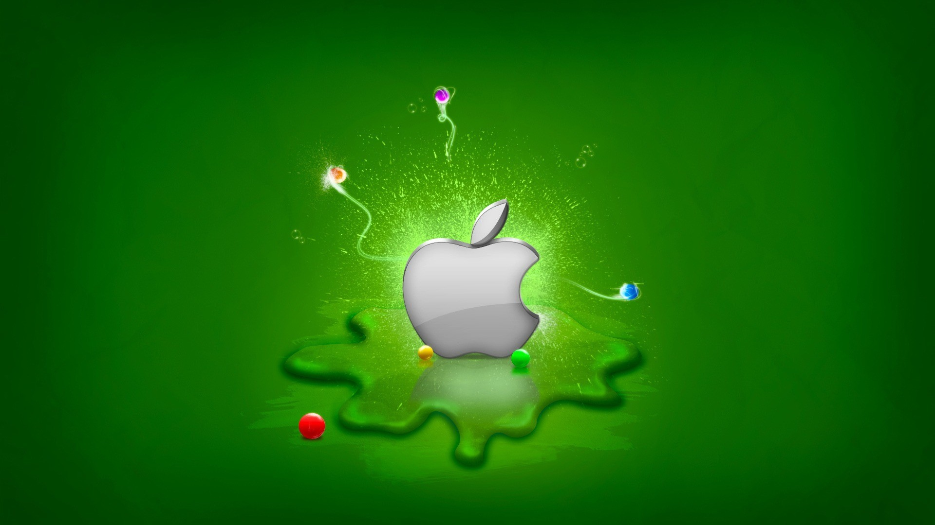 Res: 1920x1080, Collection:Apple Logo