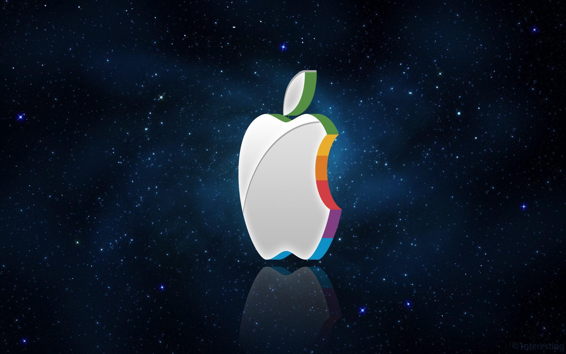 Res: 1920x1200, 3D Apple Logo Wallpaper by 1nteresting on DeviantArt