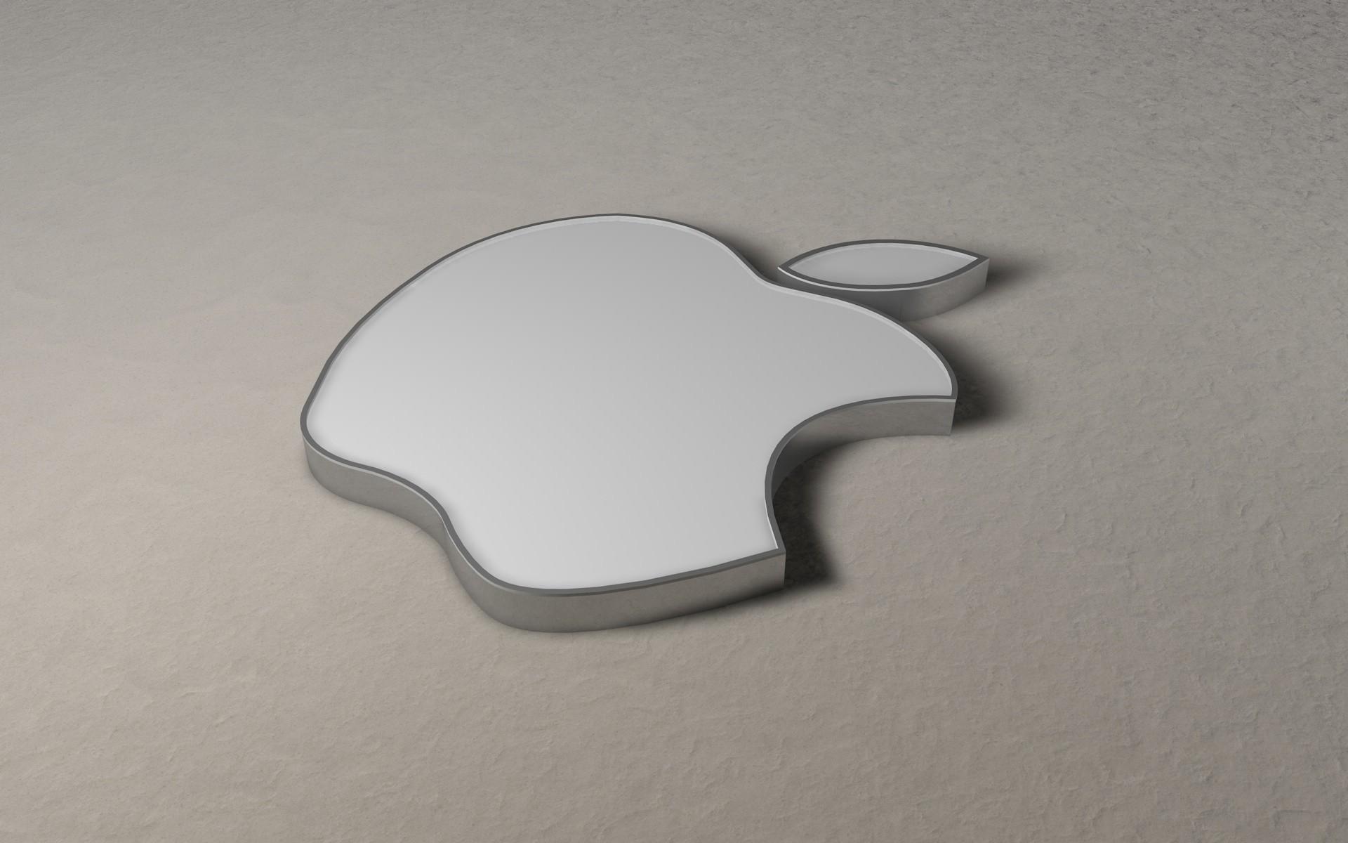 Res: 1920x1200, Apple 3D Logo HD Wallpaper