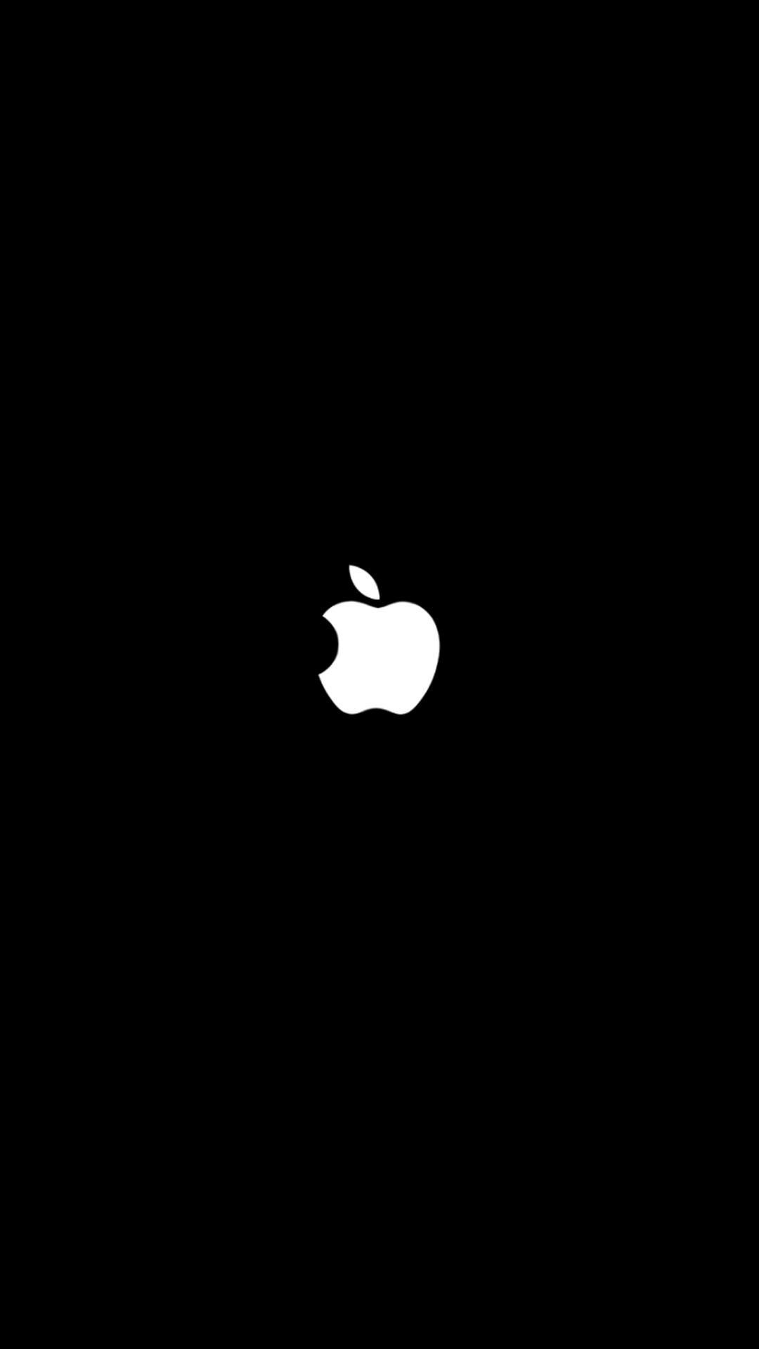 Res: 1080x1920, Wallpaper Black Apple For iPhone 7 resolution