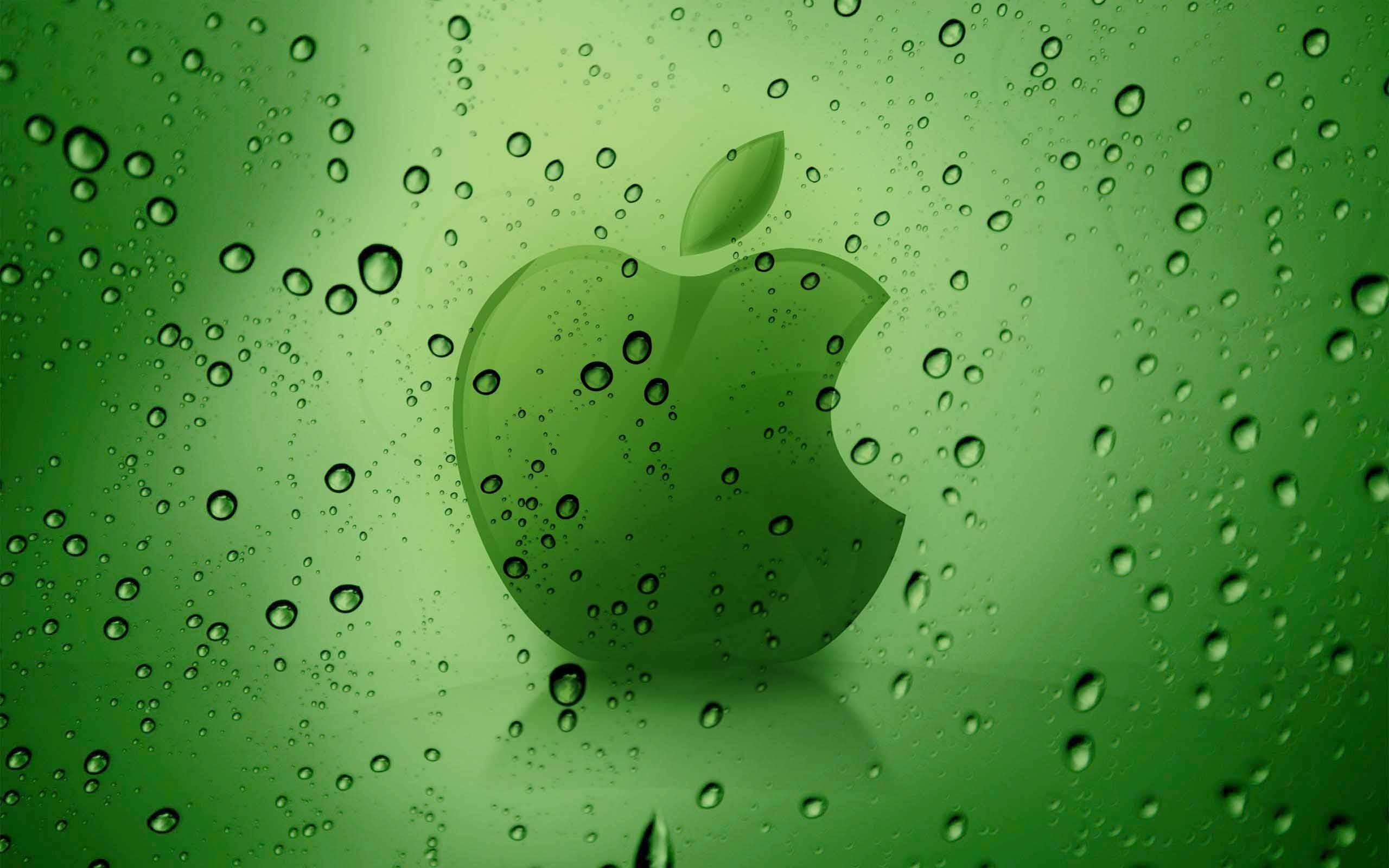 Res: 2560x1600, Green Apple 3D Wallpaper - Download Wallpaper