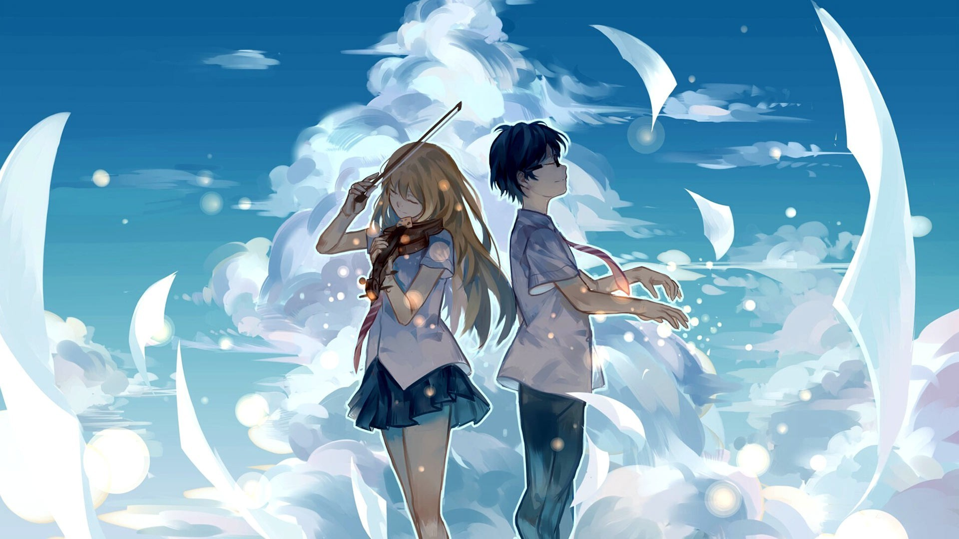 Res: 1920x1080,  Anime Love Couple Wallpapers. 0 · Download · Res: 3840x2160 ...