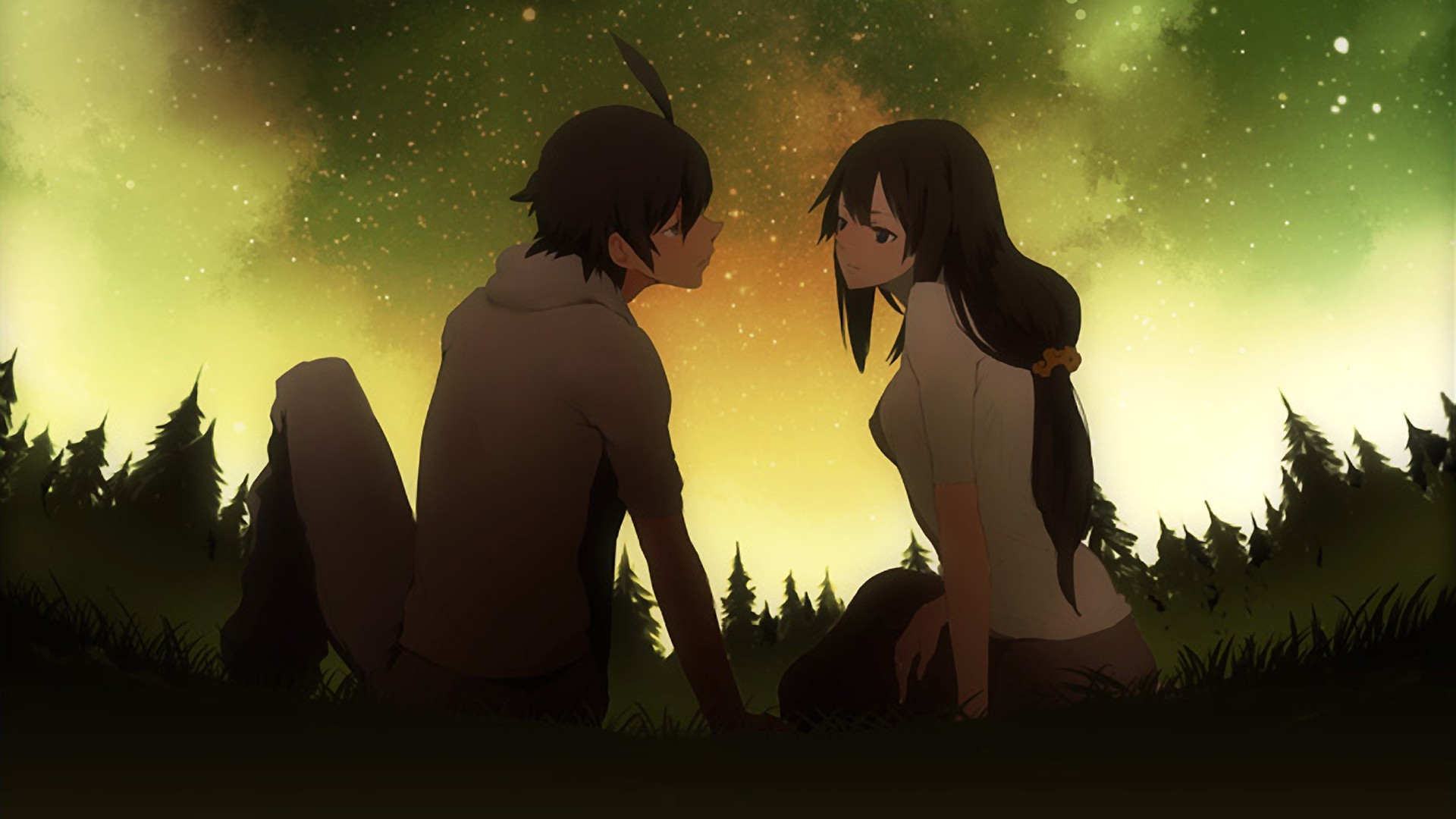 Res: 1920x1080, Anime Couple Wallpaper