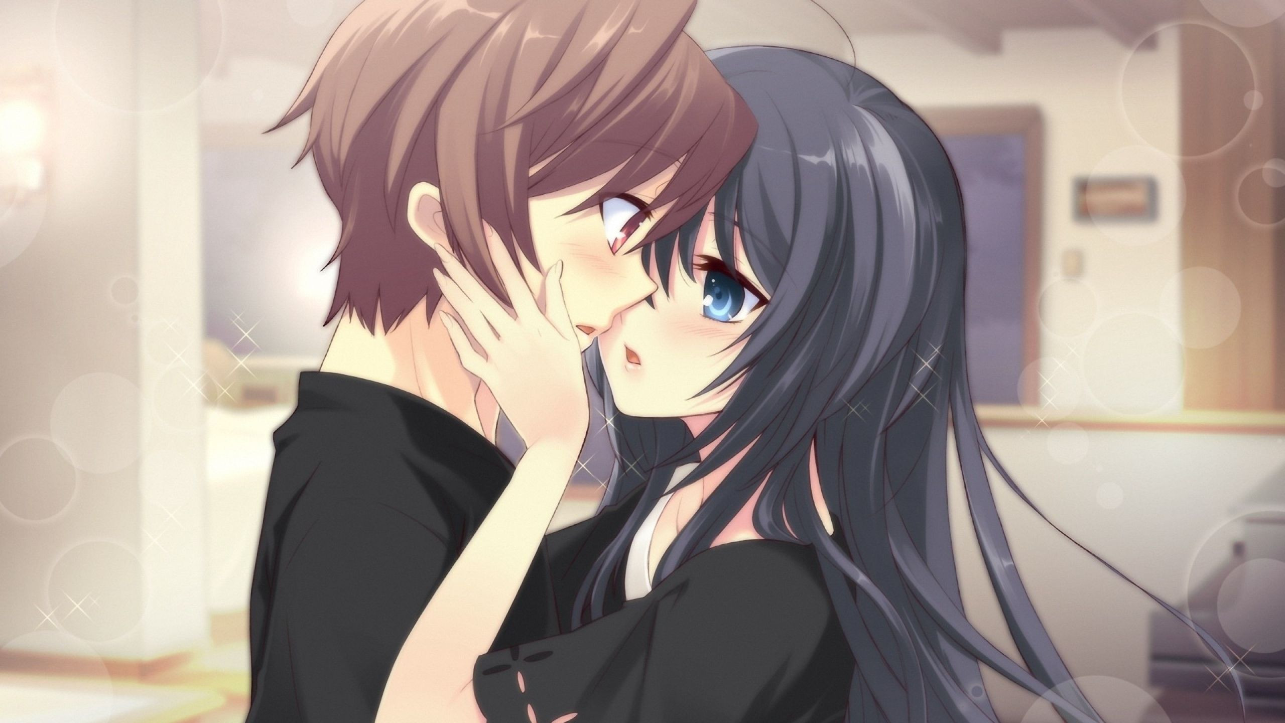 Res: 2560x1440, ...  Cute Anime Couples Wallpaper Cute Anime Couple Wallpapers