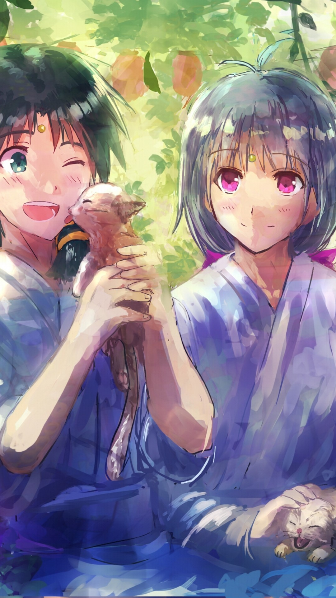 Res: 1080x1920, anime couple wallpaper hd #743775