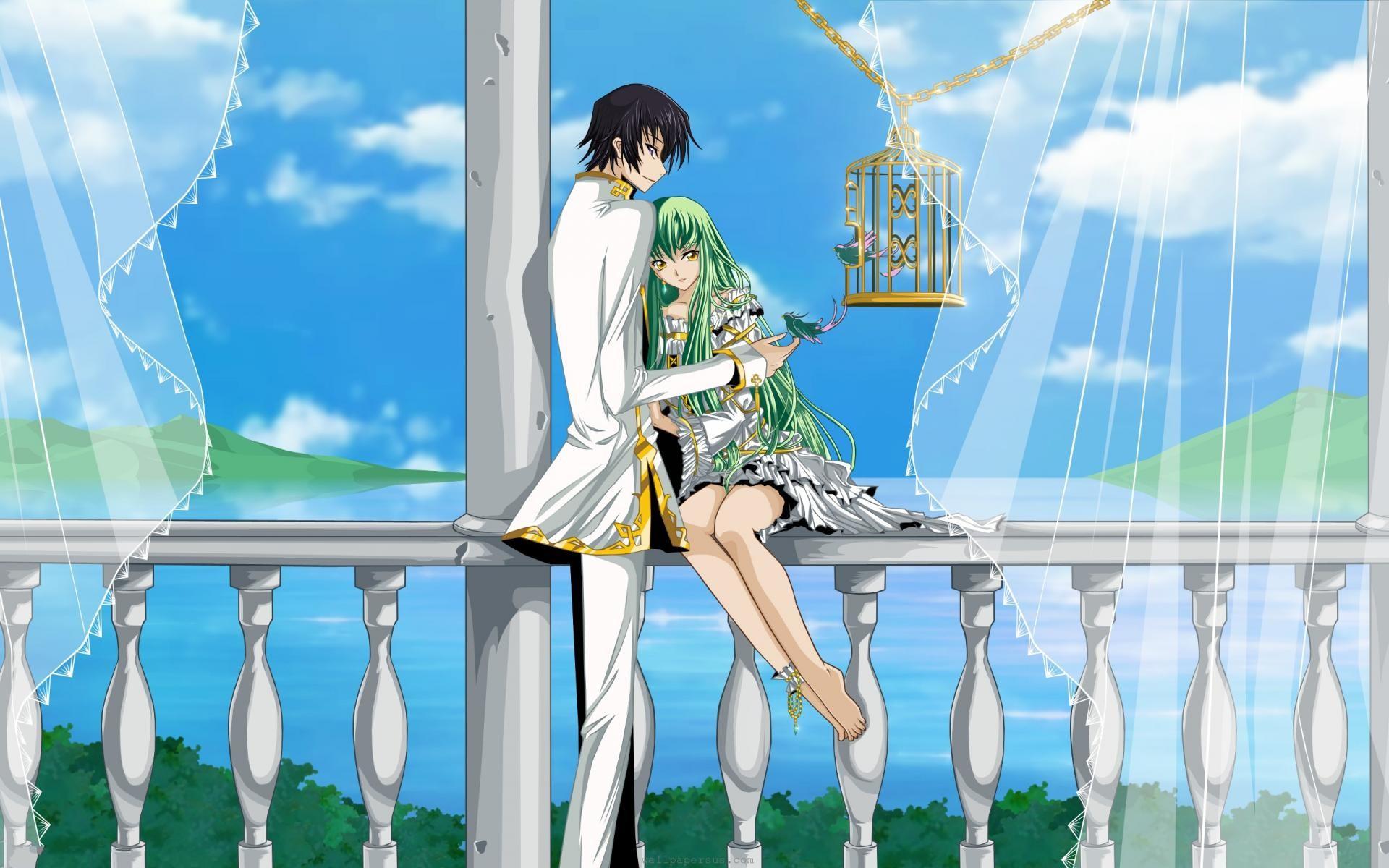 Res: 1920x1200, Full HD Anime Couple Desktop Background