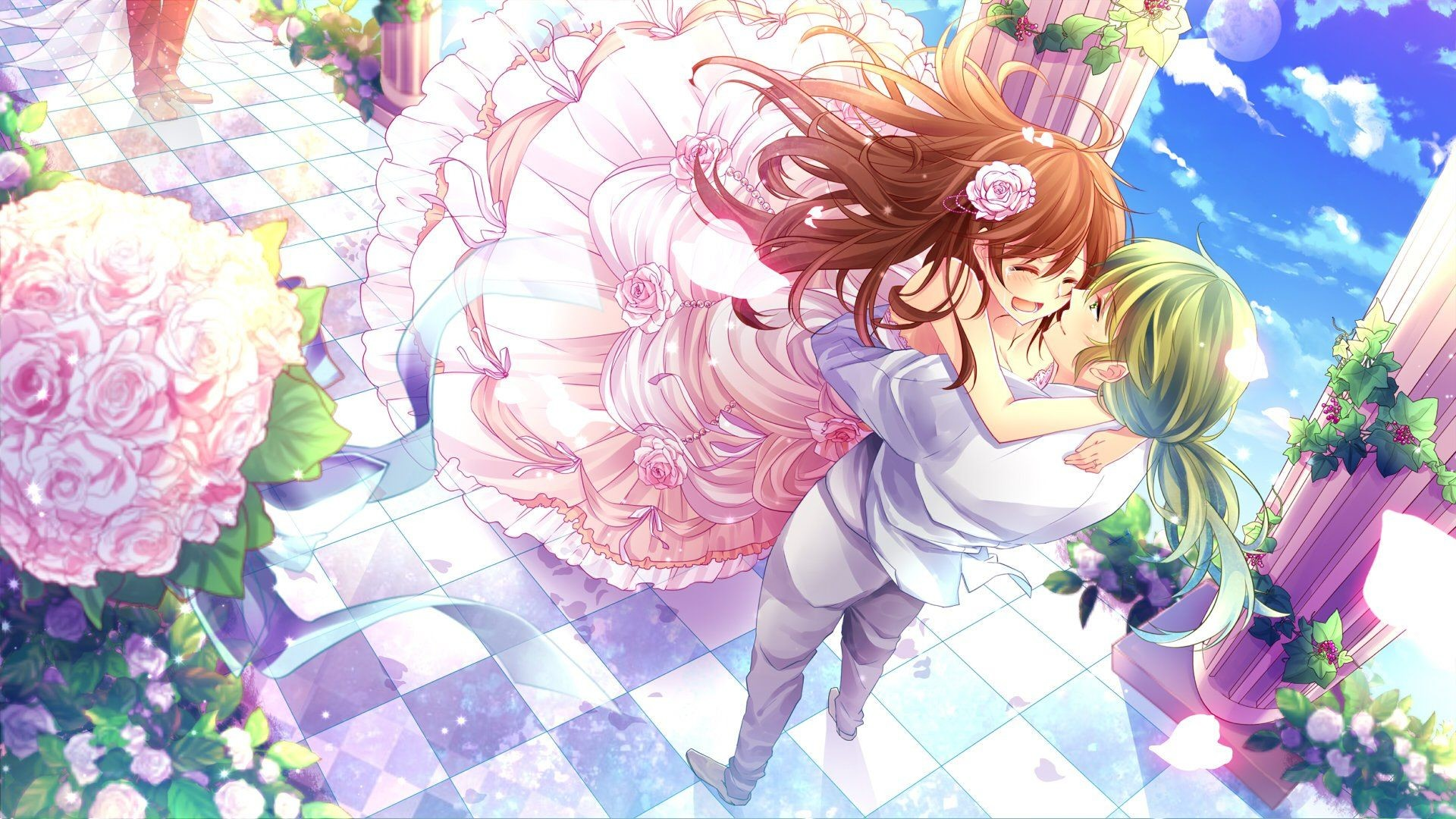 Res: 1920x1080, Anime couple wallpaper Gallery| Beautiful and Interesting  Images,Vectors,Coloring,Cliparts |Free Hd wallpapers
